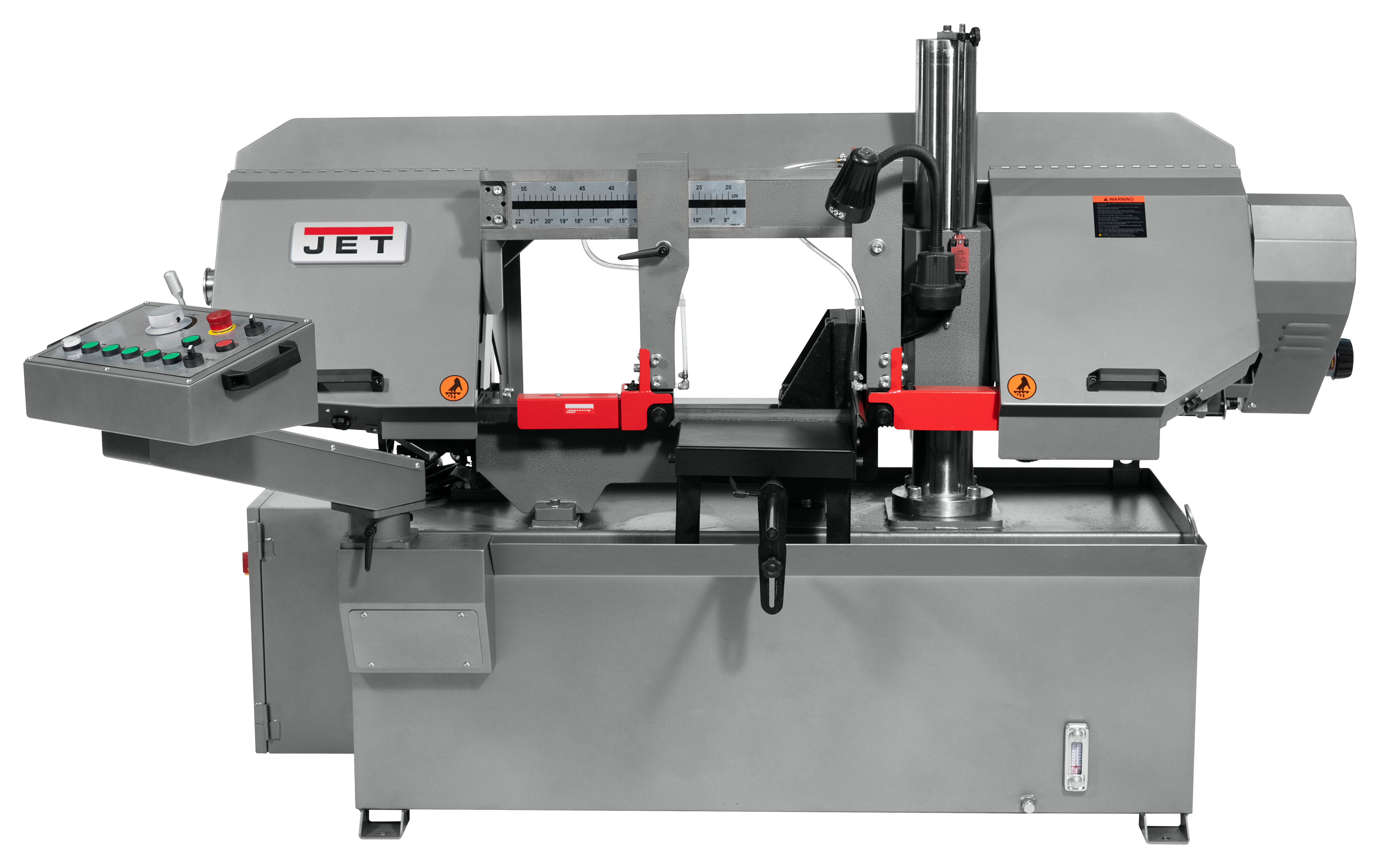 "HBS1220DC, 12x20"" Semi-Automatic Dual Column Bandsaw 3HP, 230/460V, 3Ph"""