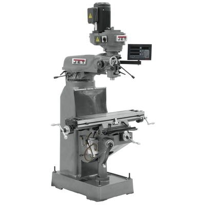 JVM-836-3 Mill With ACU-RITE 203 DRO With X-Axis Powerfeed