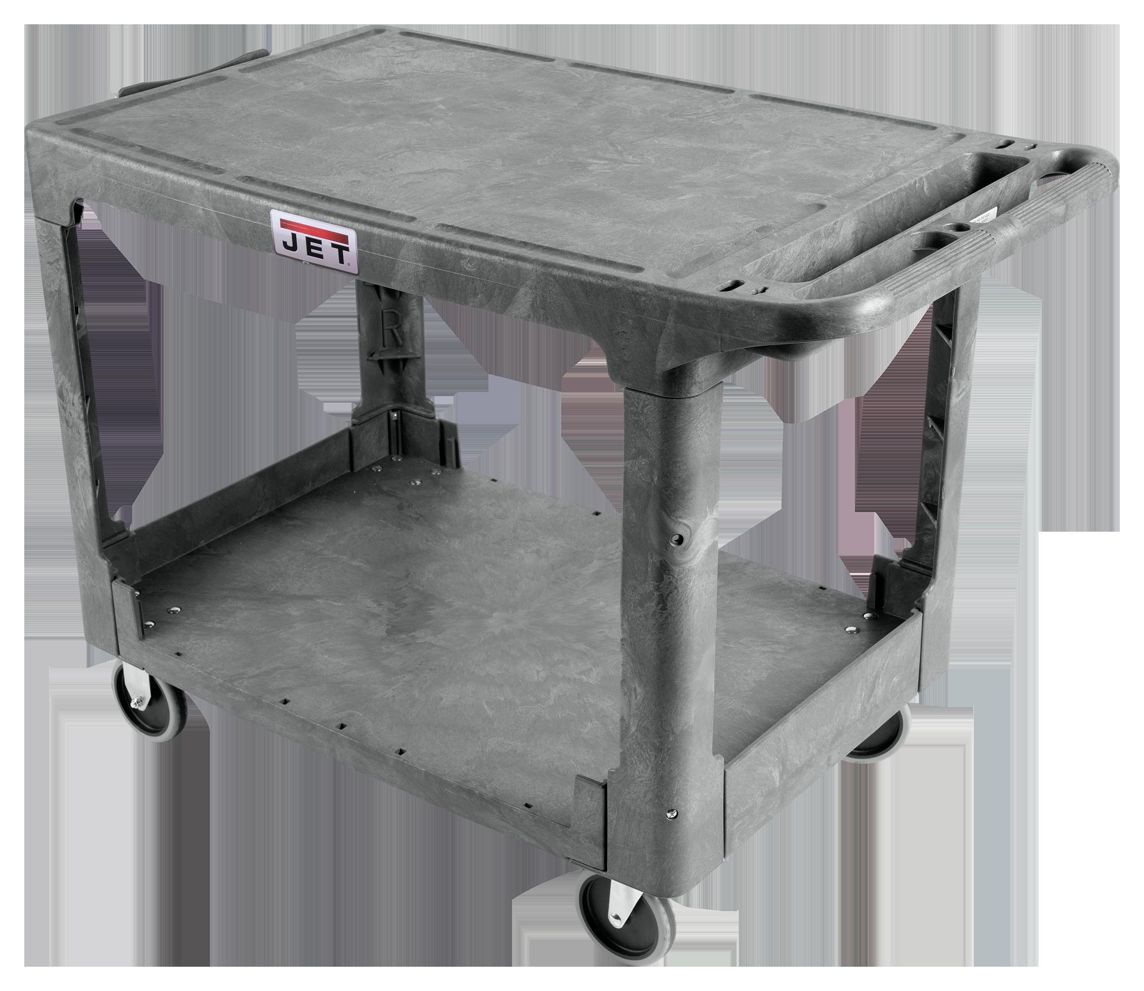 PUC-44x25, Resin Flat Top Utility Cart
