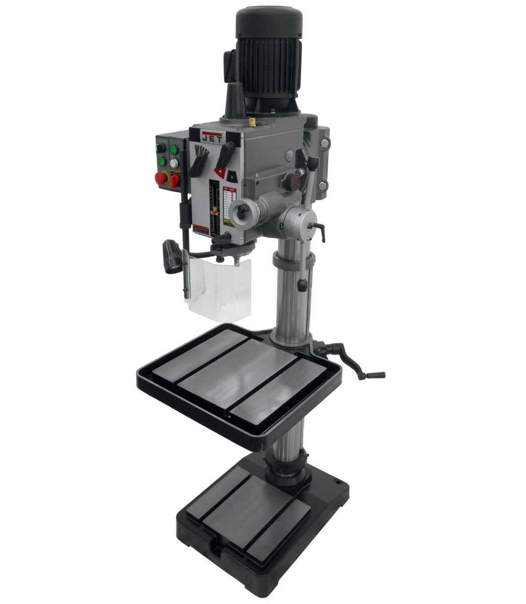 """GHD-20PFT, 20"""" Gear Head Tapping Drill Press With Power Down feed 230V, 3Ph"""