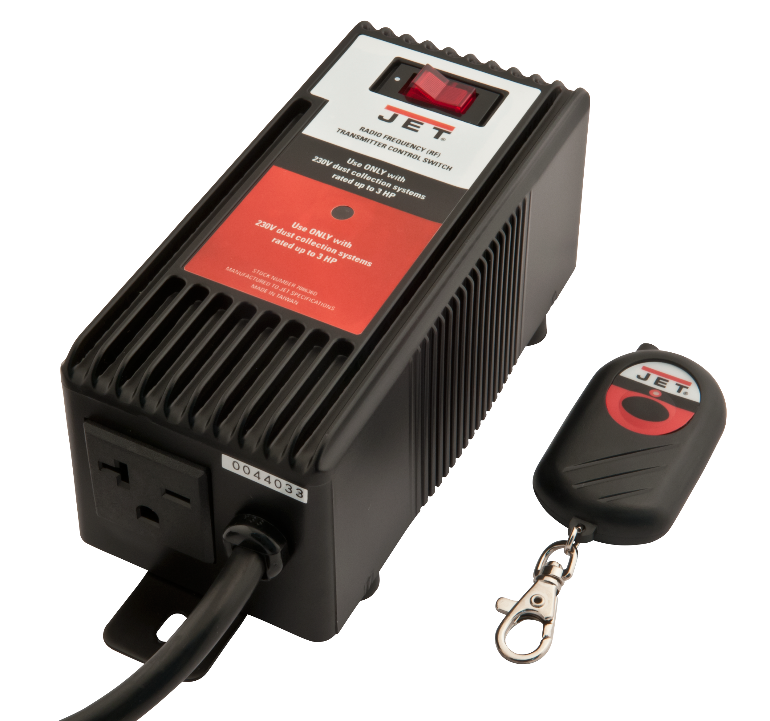 RF Remote Control for Dust Collectors, 220V