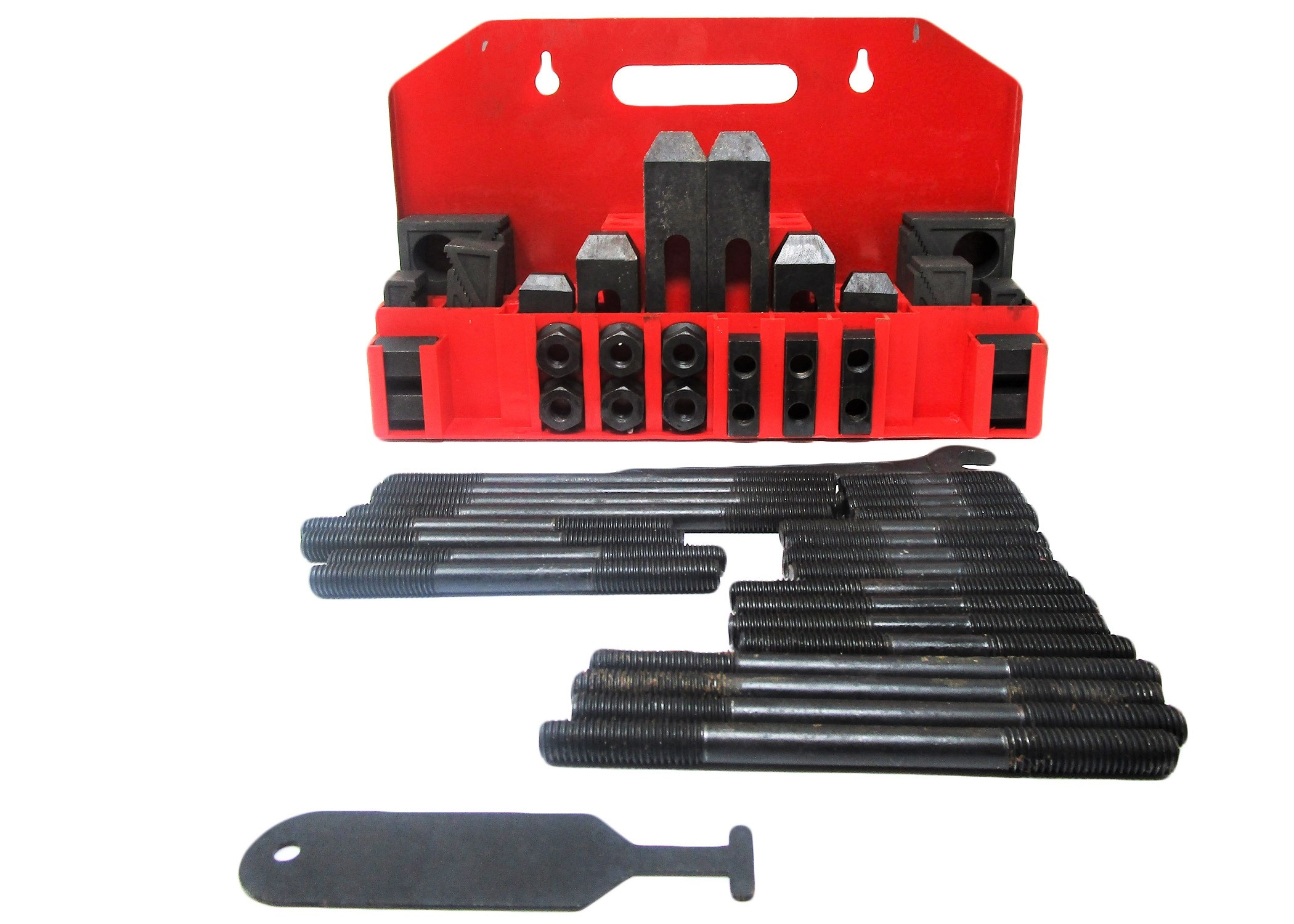 "CK-12, 58-Piece Clamping Kit with Tray for 5/8"" T-Slot"
