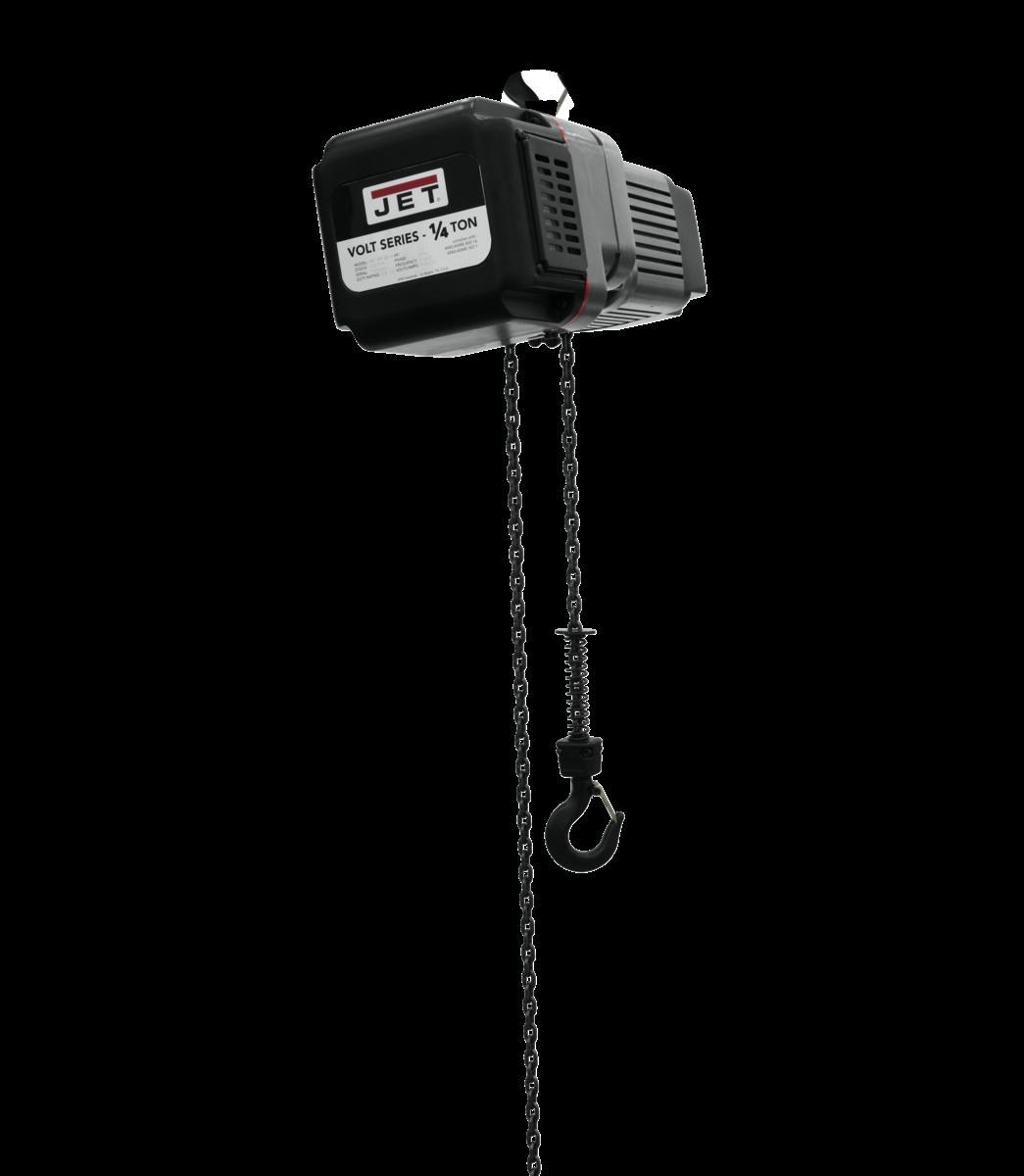 VOLT 1/4T VARIABLE-SPEED ELECTRIC HOIST 1PH/3PH 230V 20' LIFT