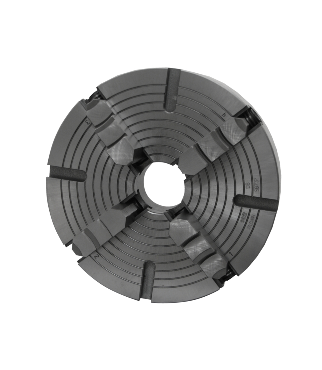 """LC-4-13GH, 8"""" 4-Jaw Chuck For Geared Head Lathes"""