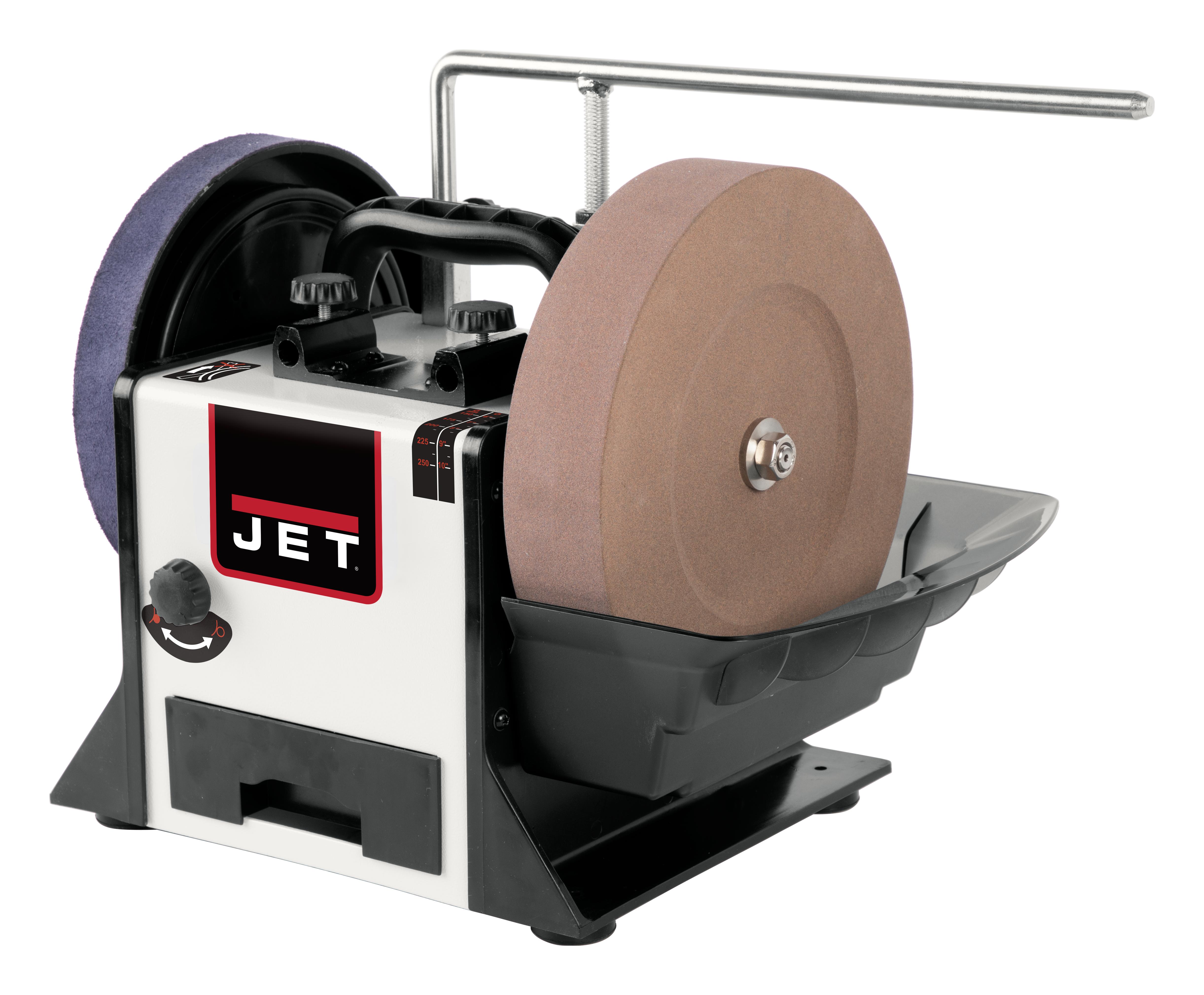 The Jet JWS-10 Variable Speed Wet Sharpener