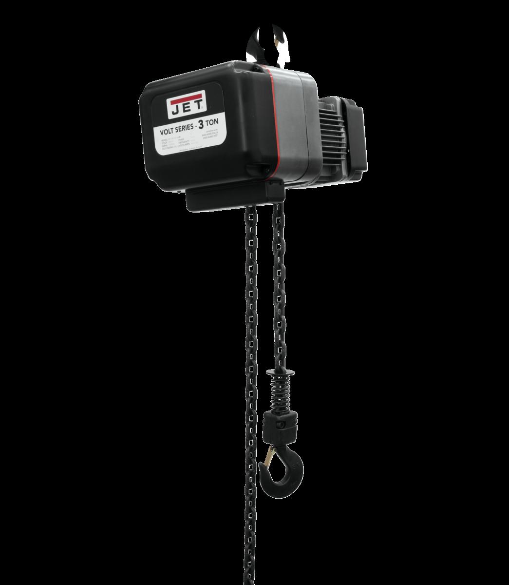 VOLT 3T VARIABLE-SPEED ELECTRIC HOIST 3PH 460V 10' LIFT