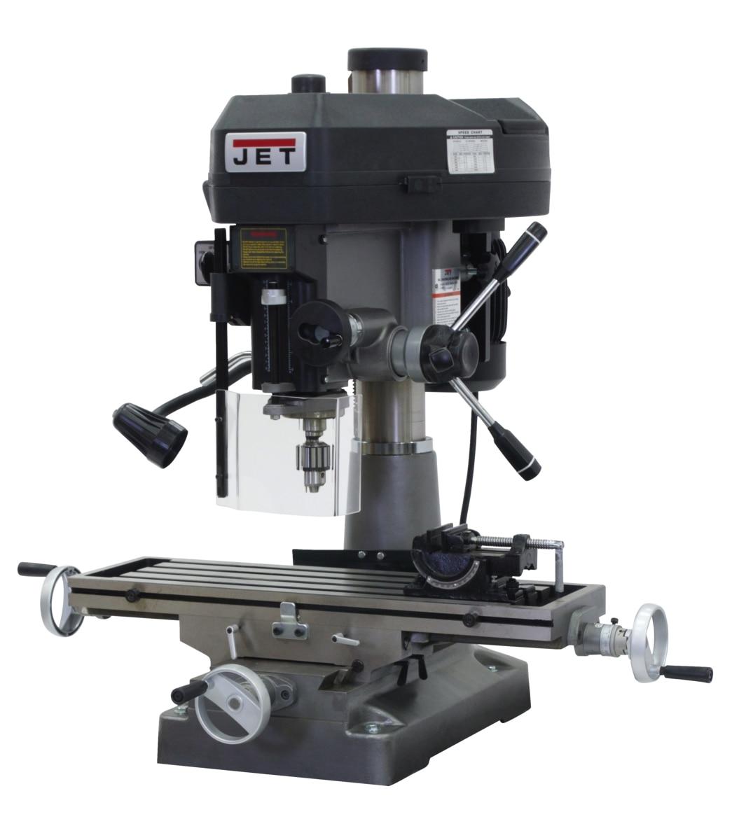 JMD-18 Mill/Drill With R-8 Taper 115/230V 1Ph