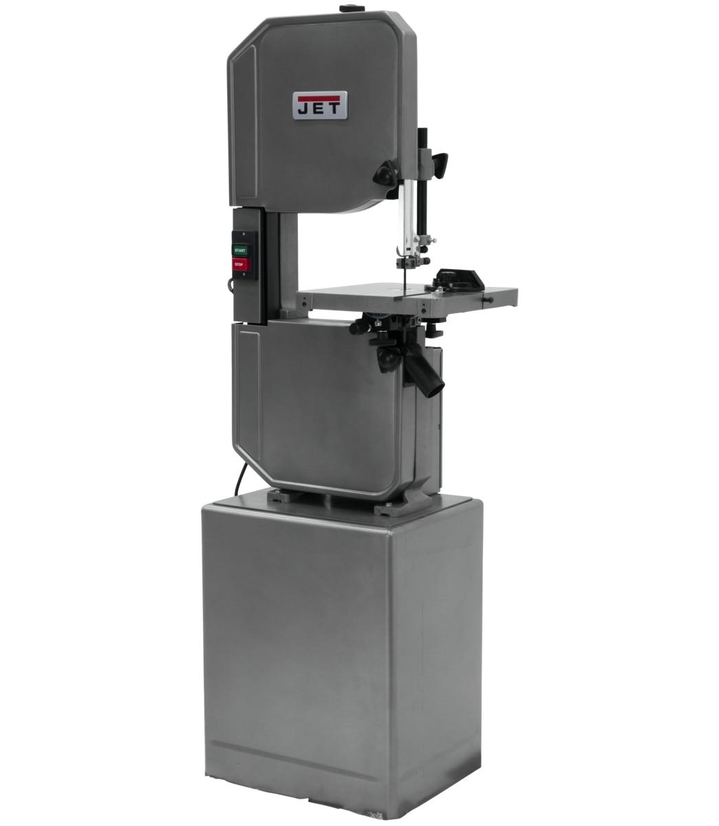 """J-8201VS, 14"""" Metal/Wood Vertical Variable Speed Bandsaw"""