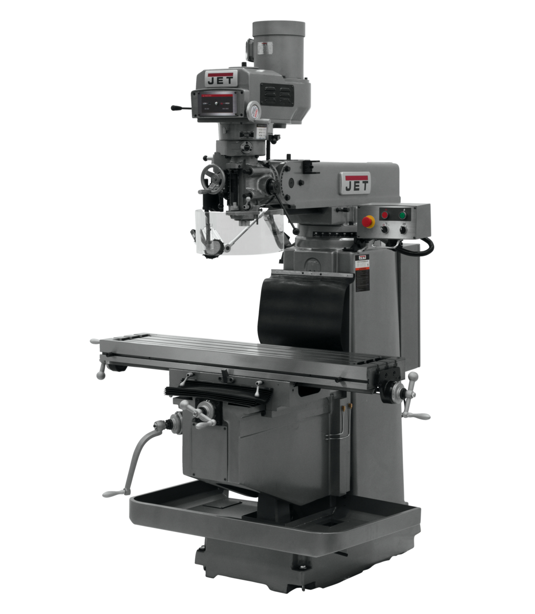 JTM-1254RVS with 2-Axis ACU-RITE G-2 MILLPOWER CNC
