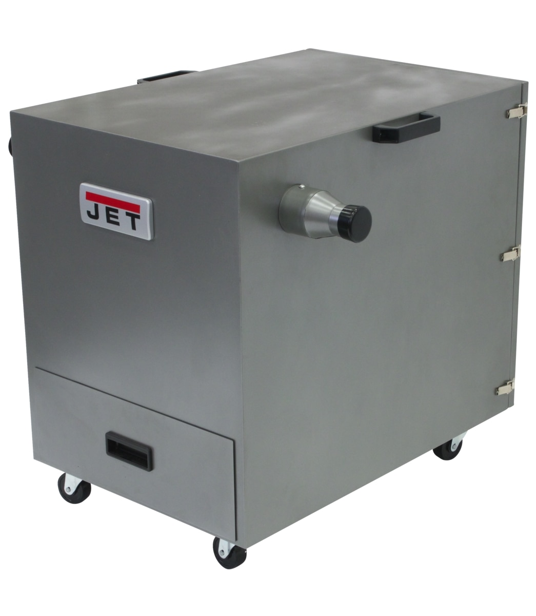 JDC-501, Cabinet Dust Collector For Metal 115/230V 1Ph