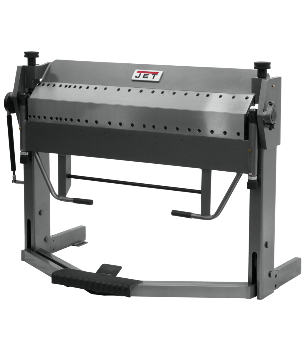 PBF-1640D 16GAX50 Dual Sided Box & Pan Brake with Foot Clamp