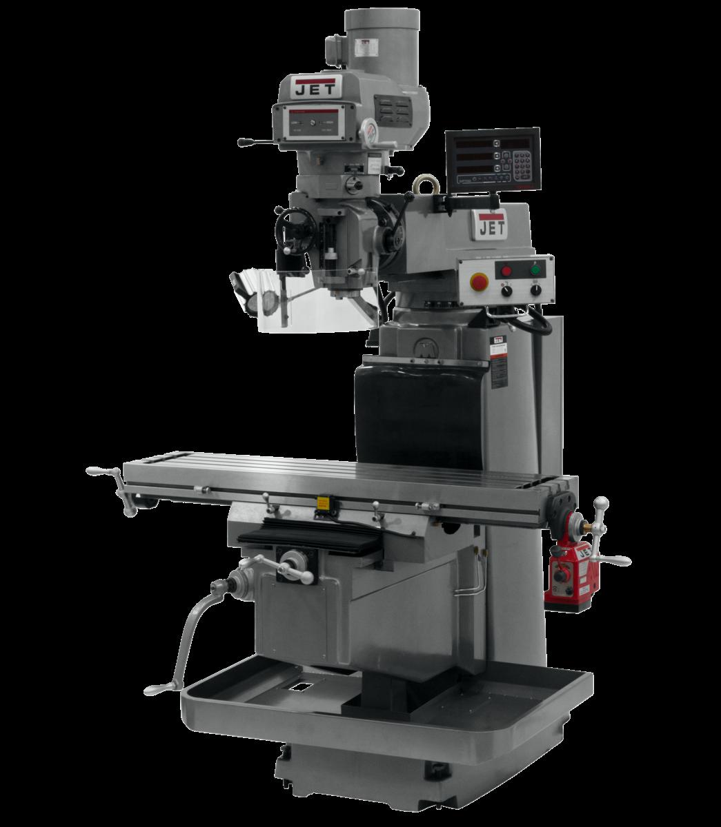 JTM-1254VS with NEWALL DP700 DRO & X Powerfeed