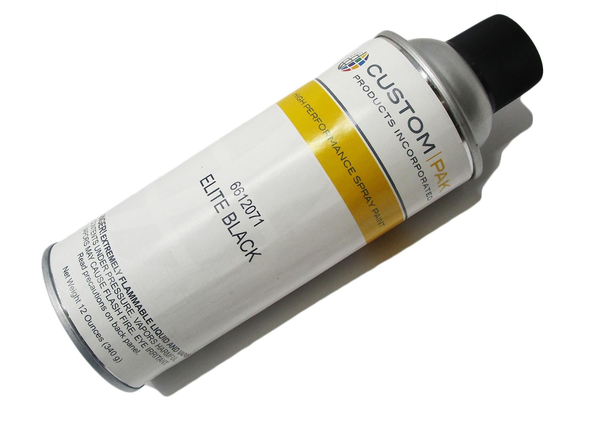 JET — Touch-up Spray Paint, Elite Black, 12 oz