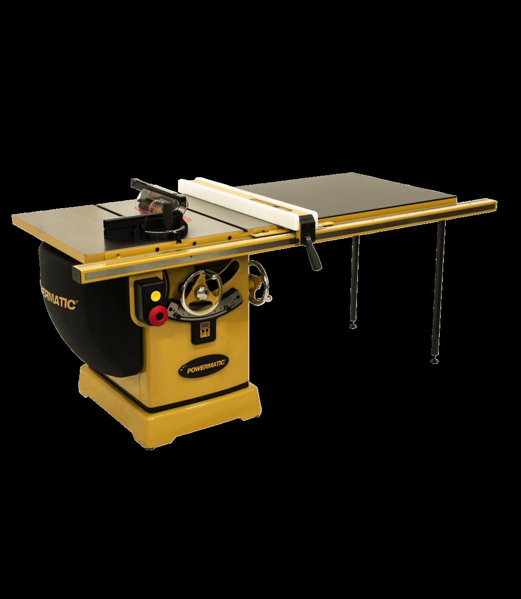 """2000B table saw - 3HP 1PH 230V 50"""" RIP w/Accu-Fence"""