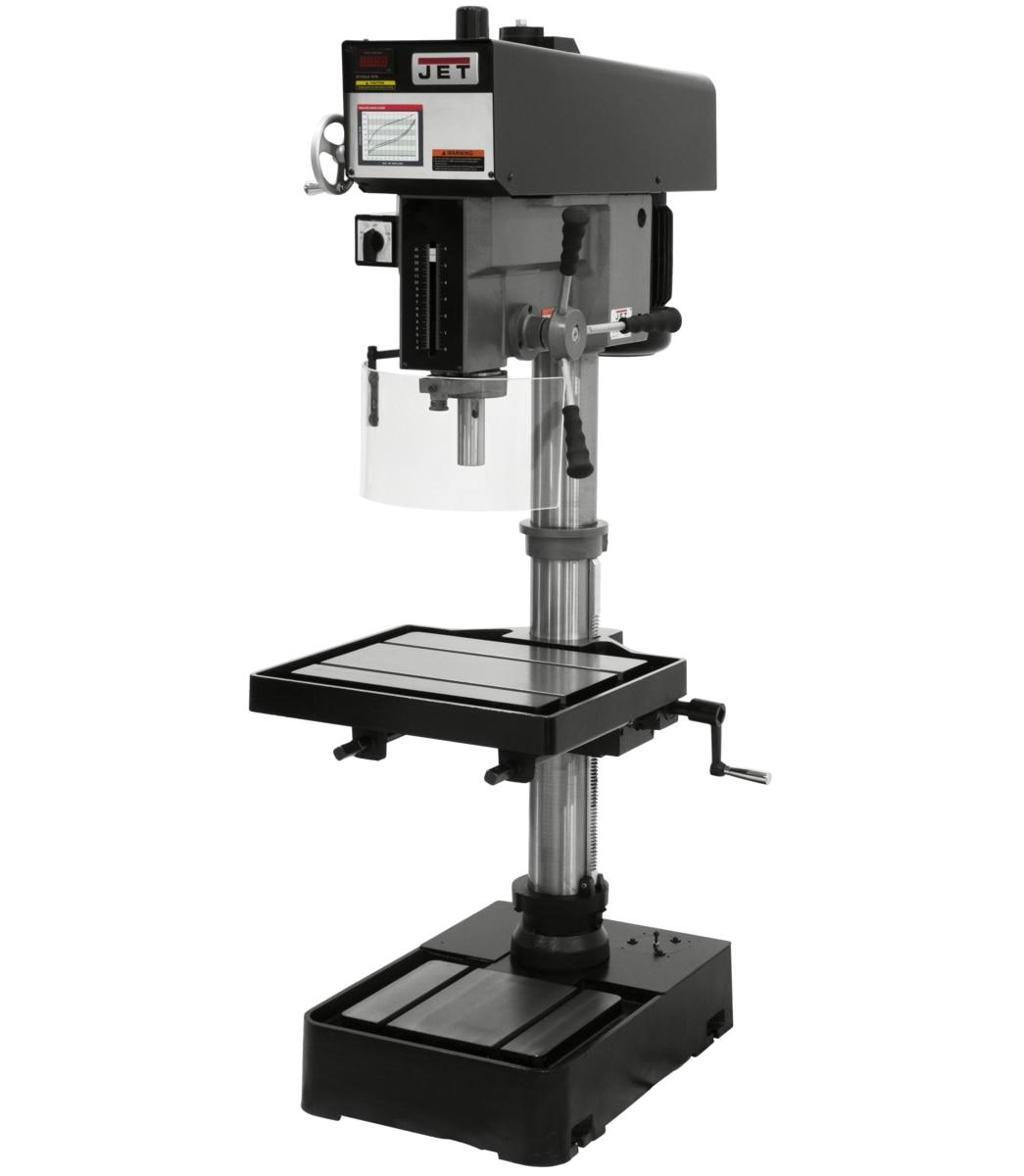 """J-2221VS, 20"""" Variable Speed Drill Press 115/230V 1Ph"""