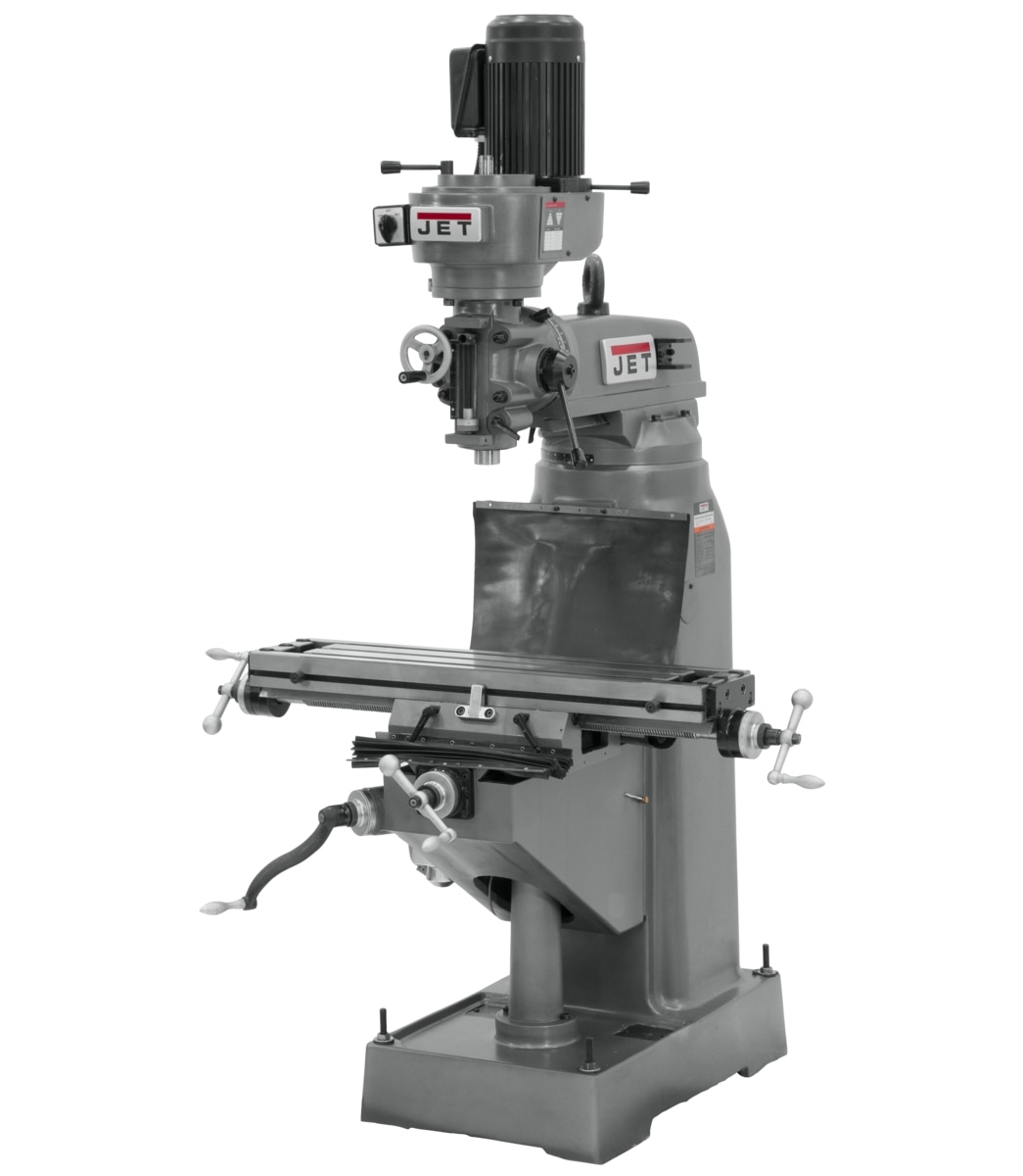 JVM-836-3 Step Pulley Milling Machine 230V 3Ph