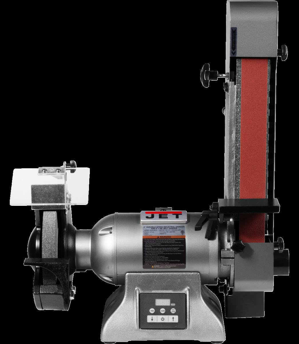 IBGB-248VS 8-Inch Variable Speed Industrial Grinder and  2 x 48 Belt Sander