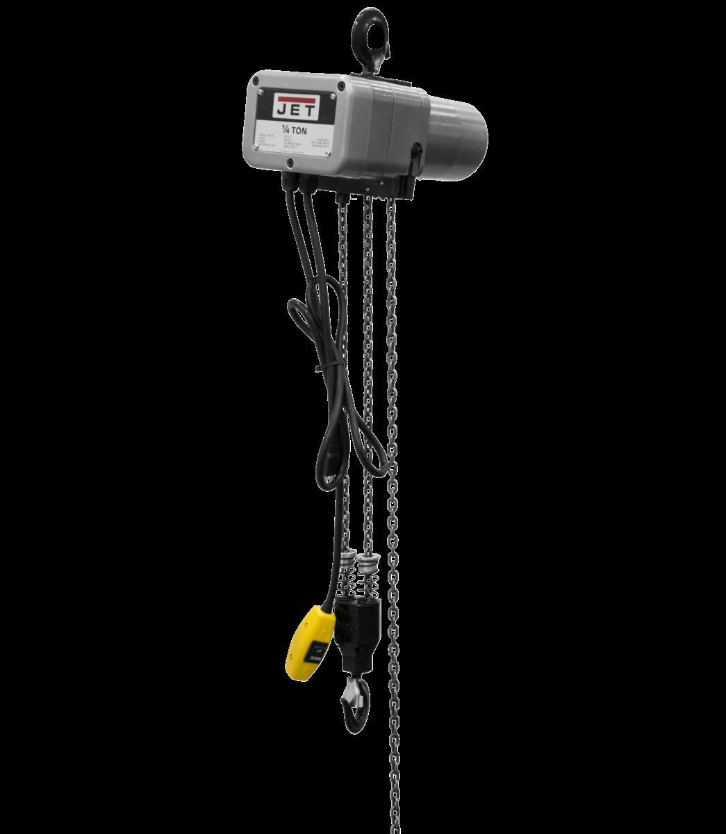 JSH-550-10 1/4-Ton Electric Chain Hoist 1-Phase 10' Lift