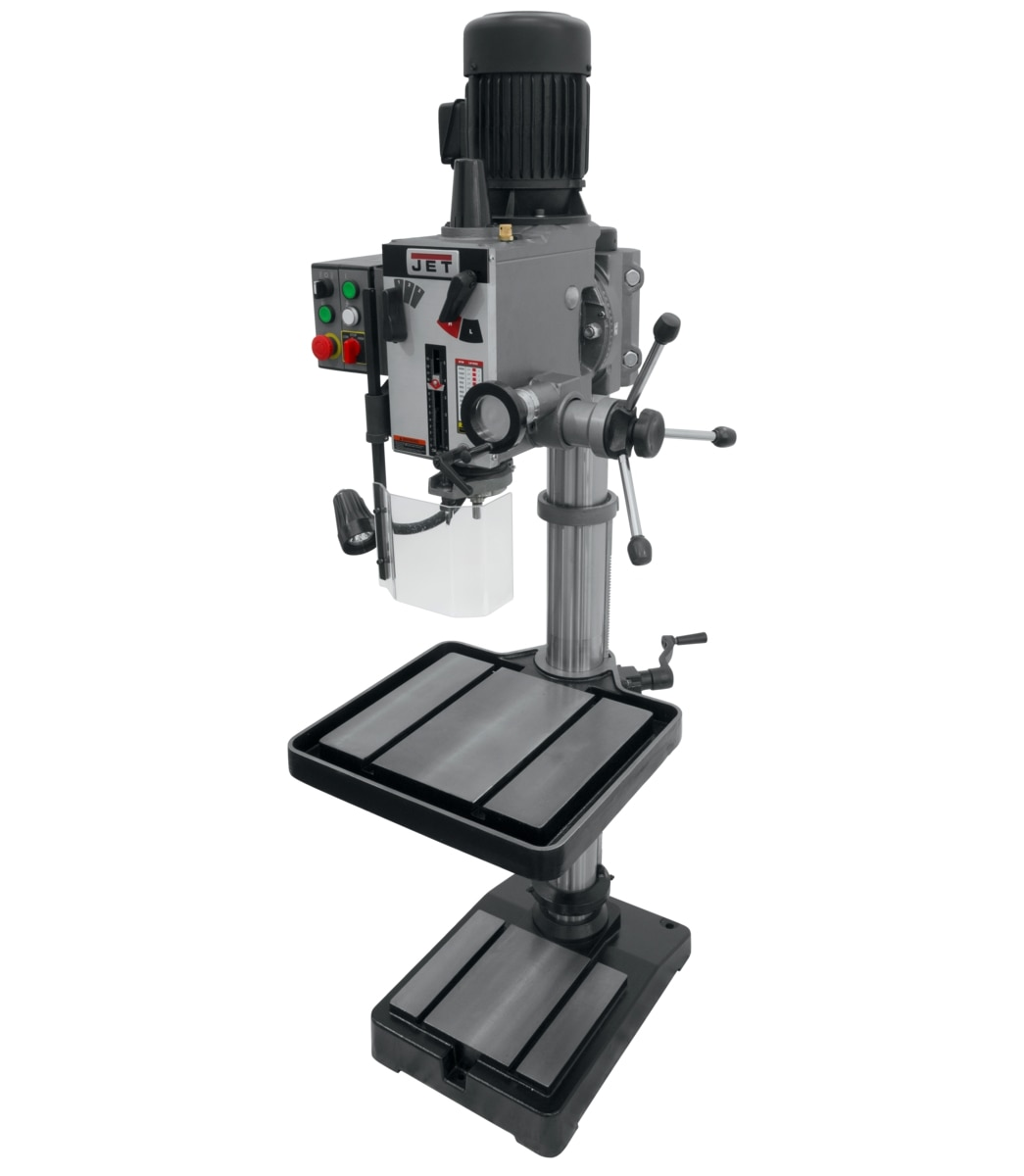 "GHD-20T, 20"" Gear Head Tapping Drill Press 230V, 3Ph"