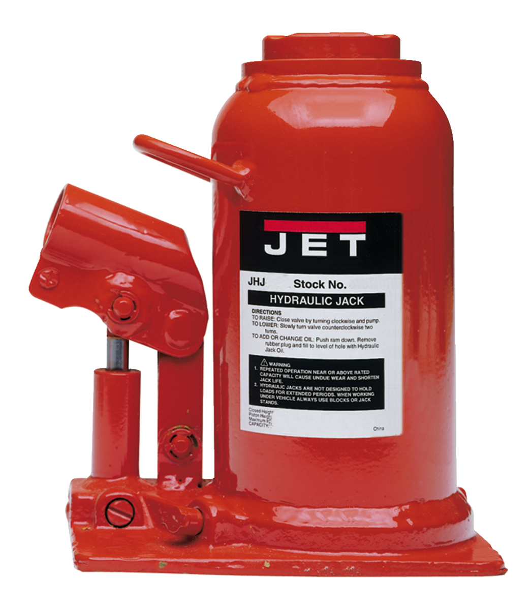 JHJ-22-1/2L, 22-1/2-Ton Low Profile Hydraulic Bottle Jack