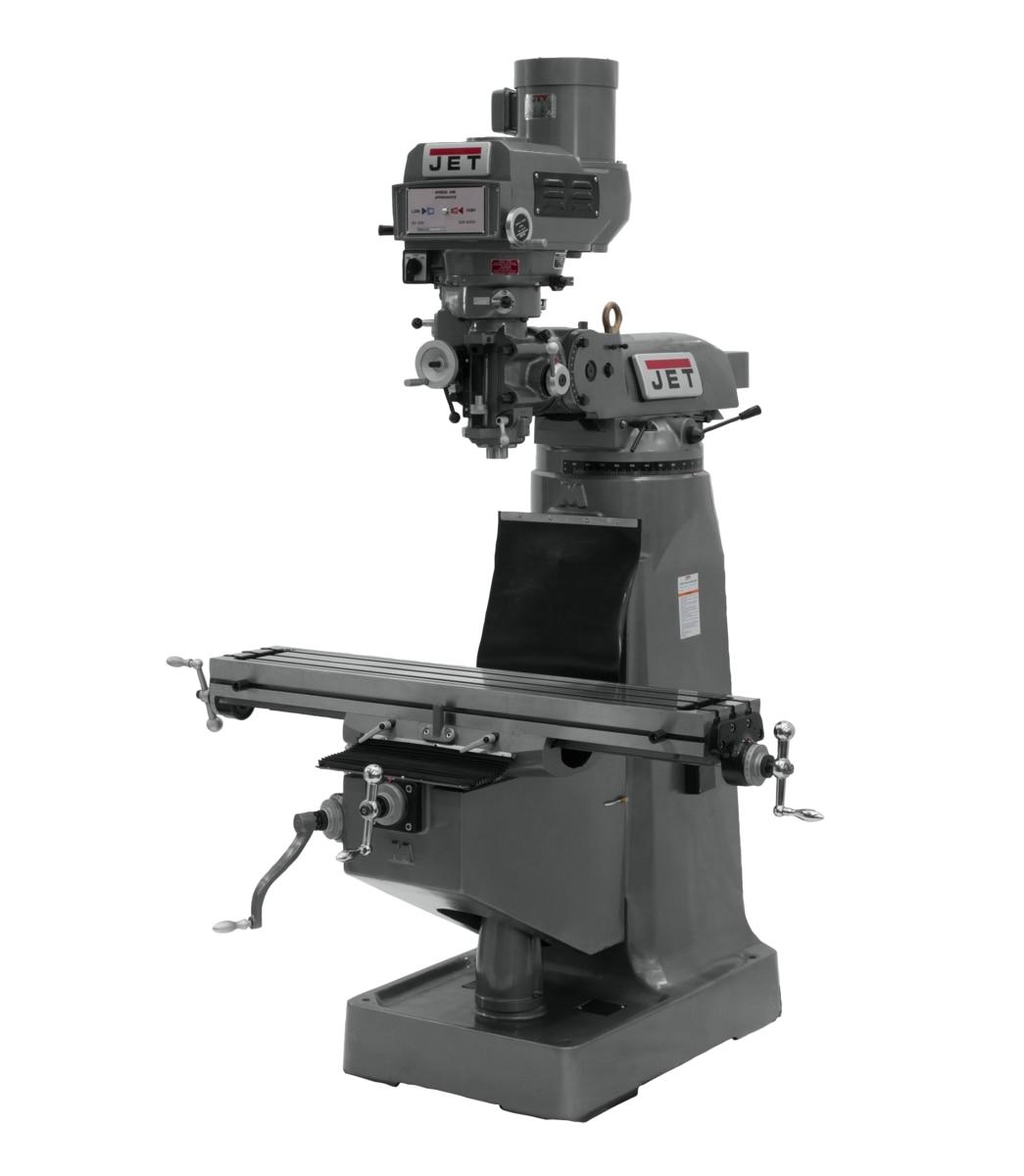 JTM-4VS-1 Variable Speed Vertical Milling Machine 115/230V 1Ph
