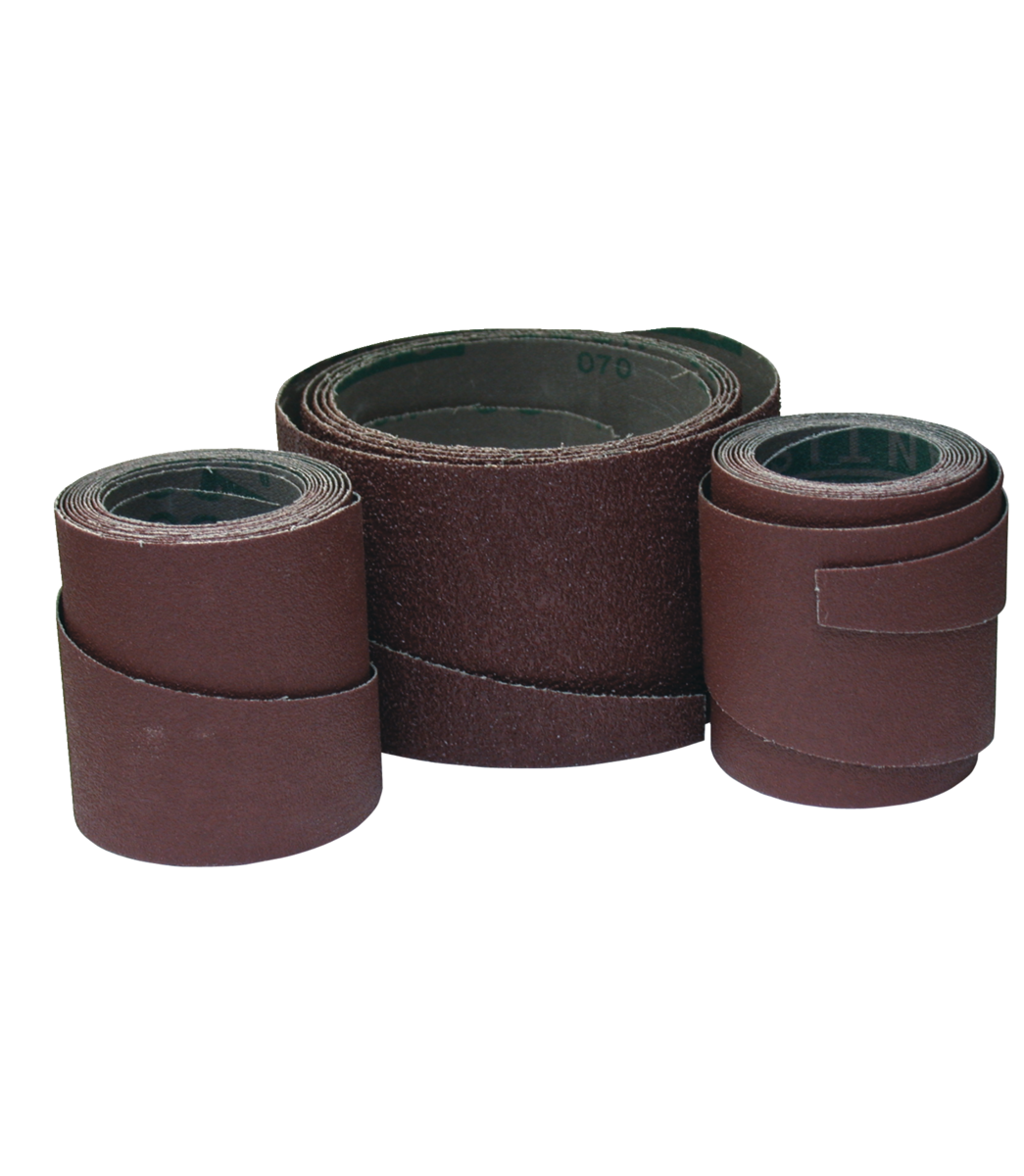 """16"""" 120 Grit Ready-To-Wrap Sandpaper 4-Wraps in Box"""