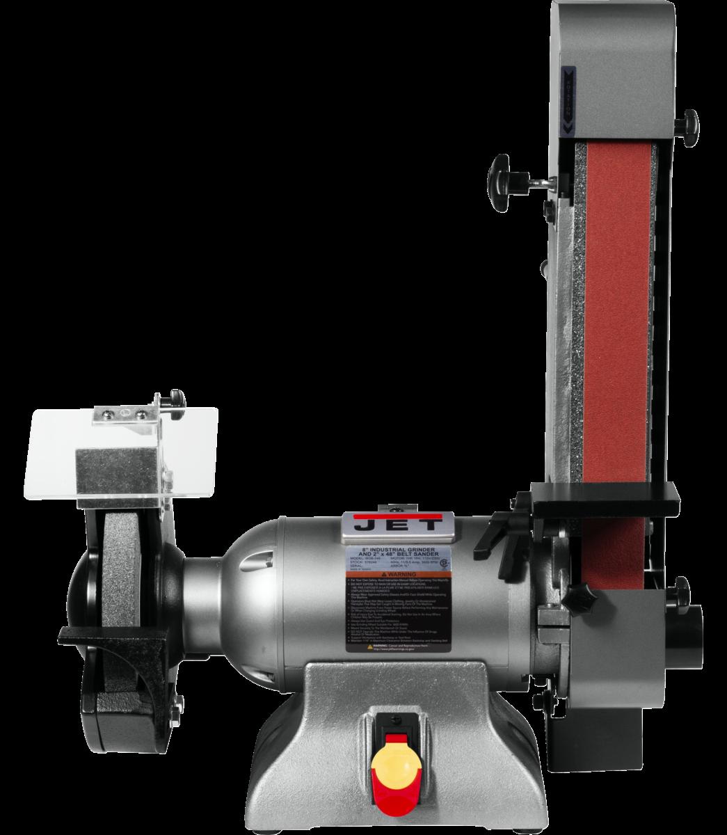IBGB-248 8-Inch Industrial Grinder and  2 x 48 Belt Sander