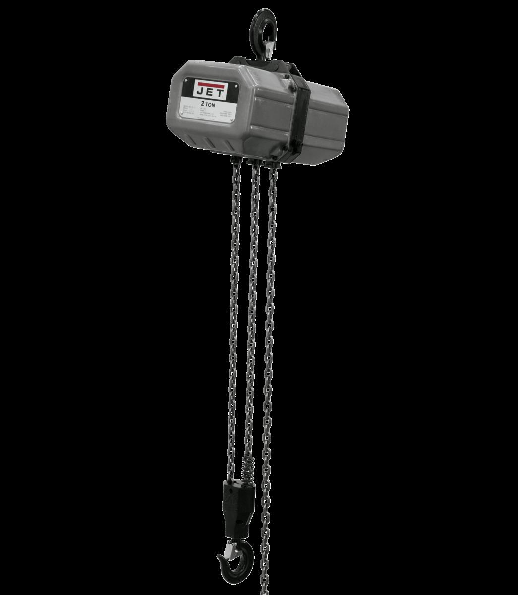 2SS-3C-15, 2-Ton Electric Chain Hoist 3-Phase 15' Lift