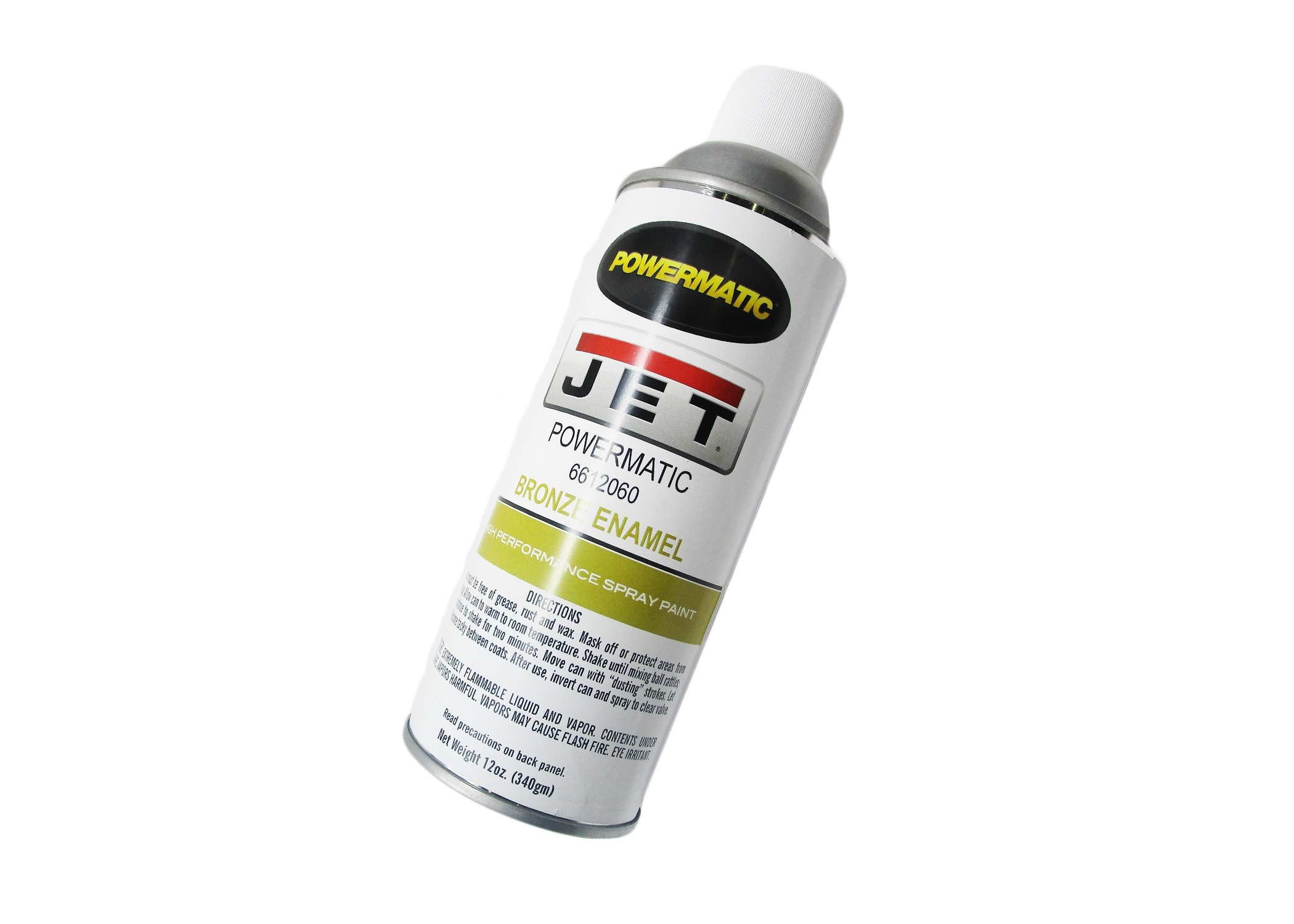 JET — Touch-up Spray Paint, Powermatic Gold, 12 oz