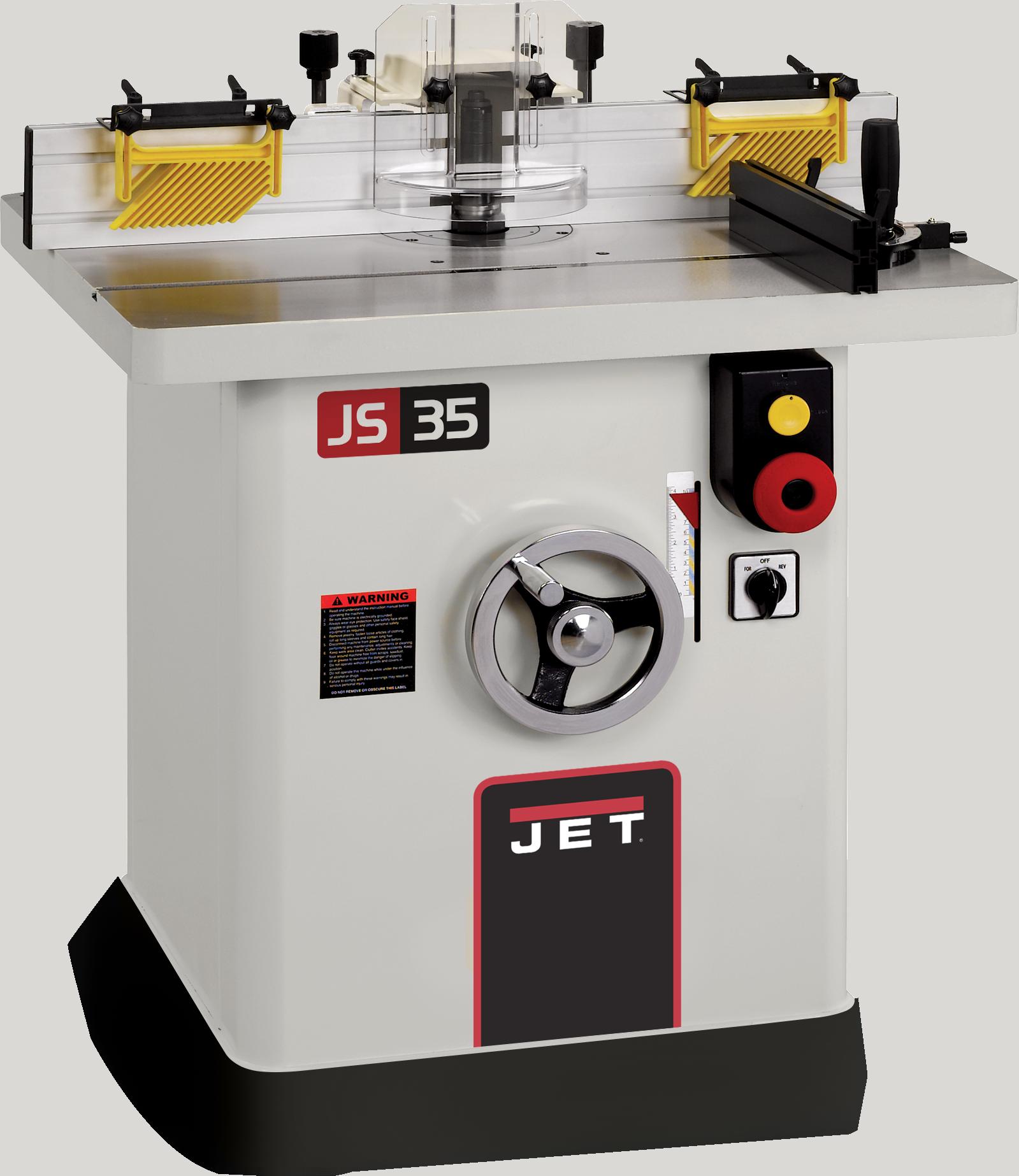 JWS-35X3-1 Shaper 3HP, 1Ph