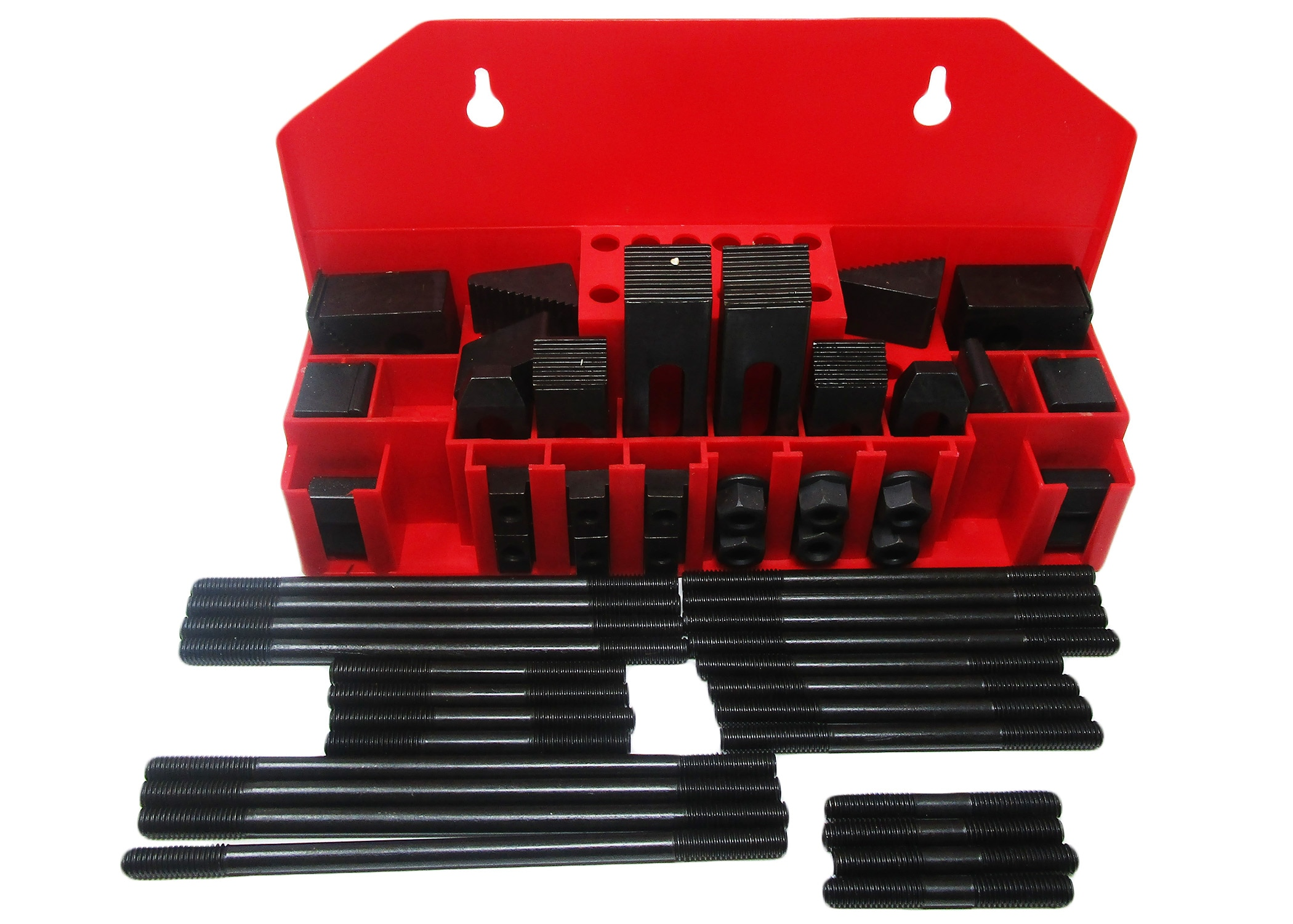 "CK-38, 58-Piece Clamping Kit with Tray for 1/2"" T-Slot"