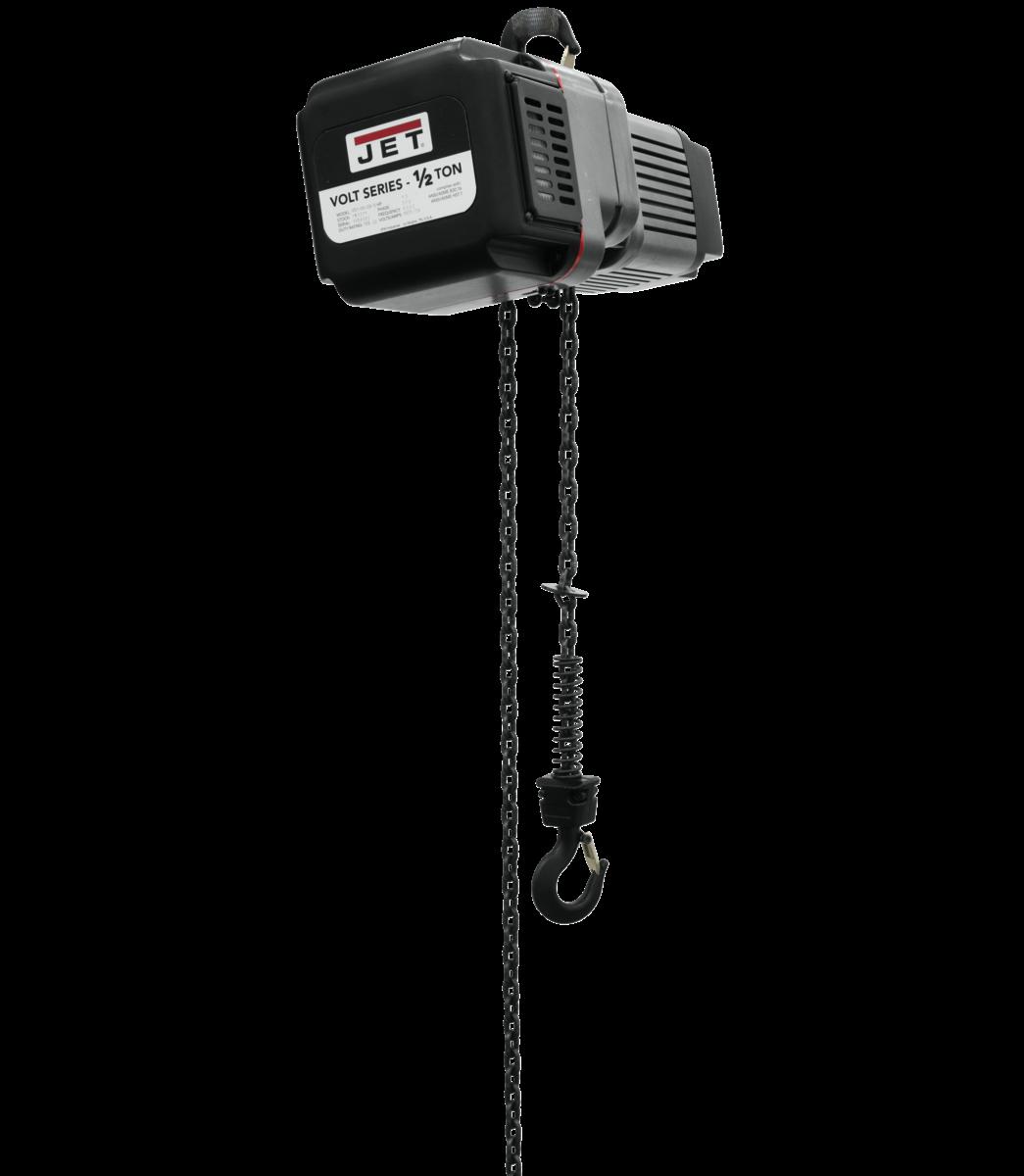 VOLT 1/2T VARIABLE-SPEED ELECTRIC HOIST 1PH/3PH 230V 15' LIFT