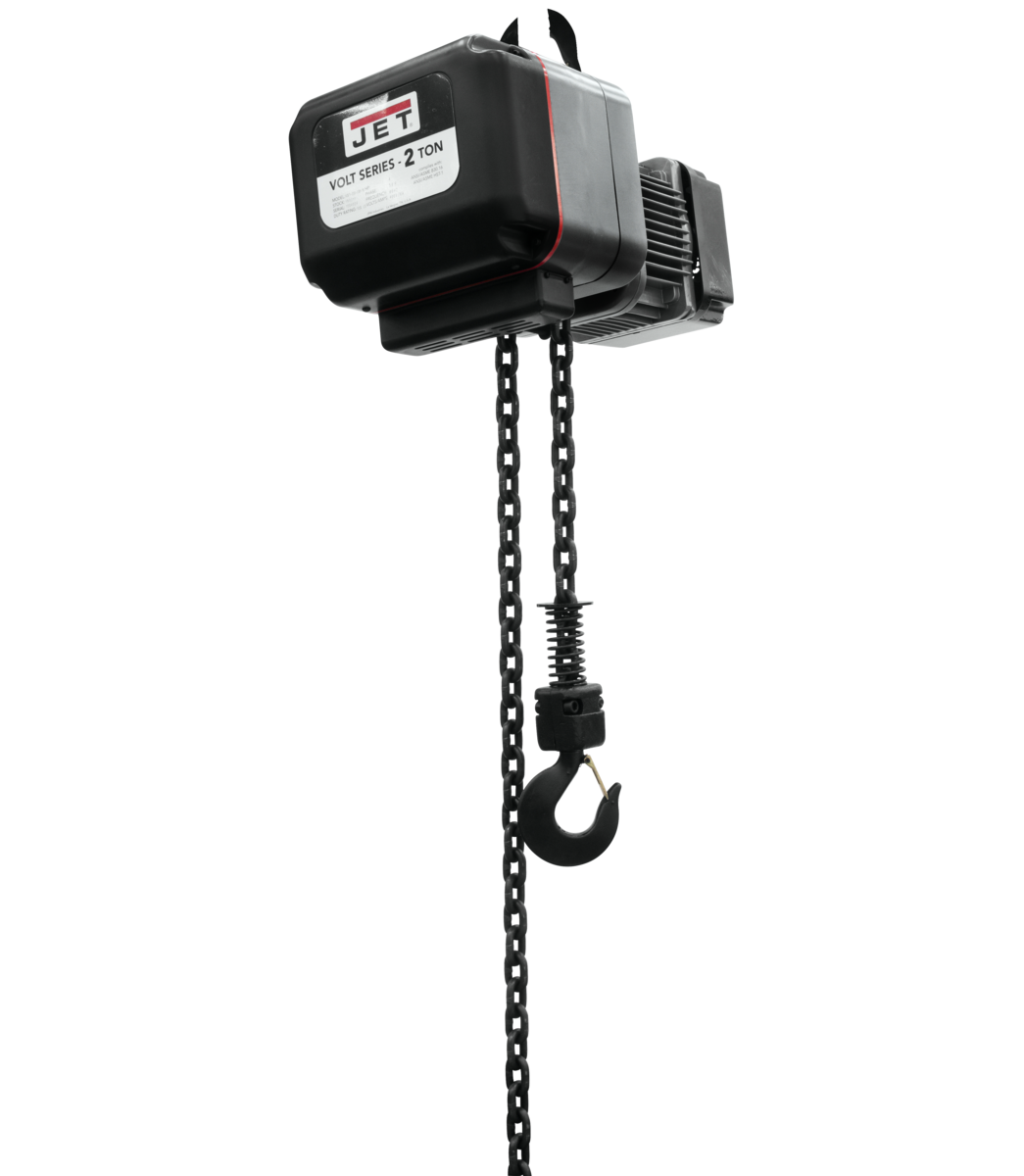 VOLT 2T VARIABLE-SPEED ELECTRIC HOIST  3PH 230V 20' LIFT