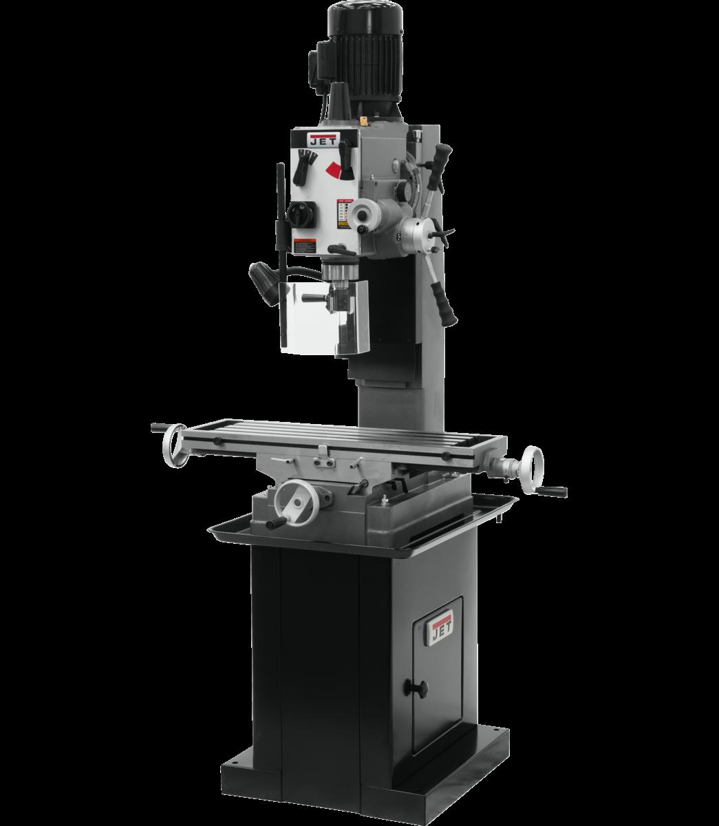 JMD-45GHPF Geared Head Square Column Mill/Drill with Power Downfeed