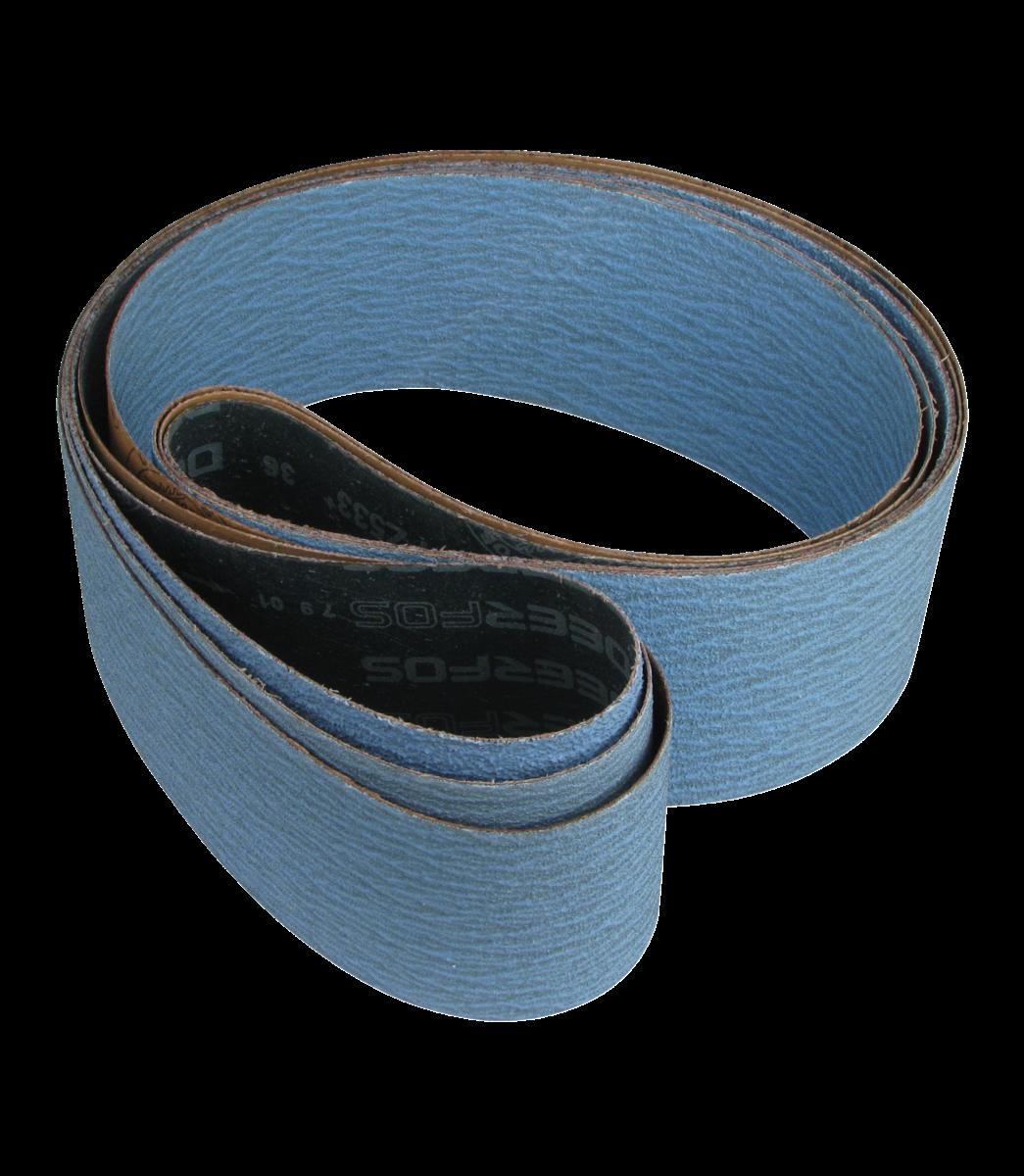 JET — Abrasive Belts (3) for DSAN4 Dual Station Abrasive Notcher