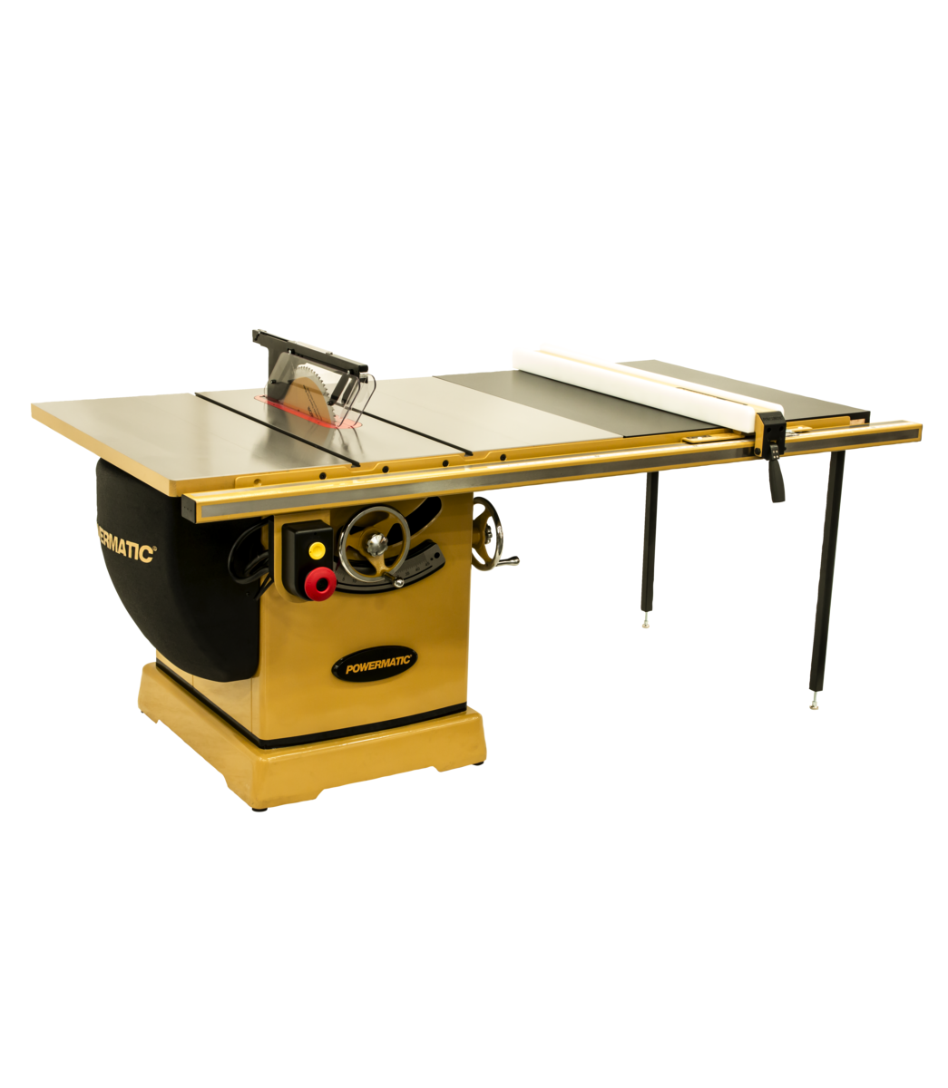 """3000B table saw - 7.5HP 3PH 230/460v 50"""" RIP with Accu-Fence"""