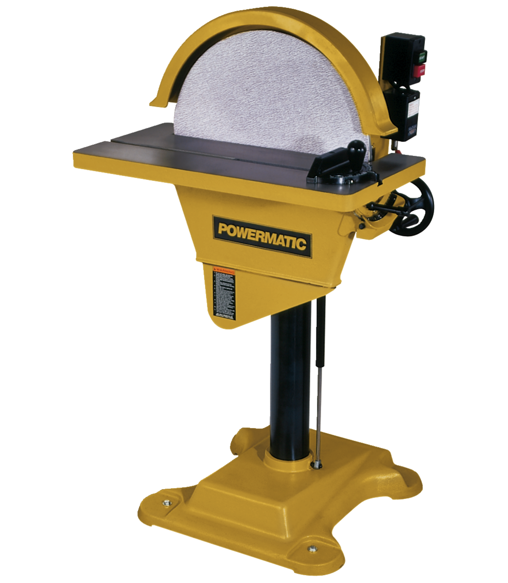 Manual: DS20 Disc Sander, 3HP 3PH 230/460V