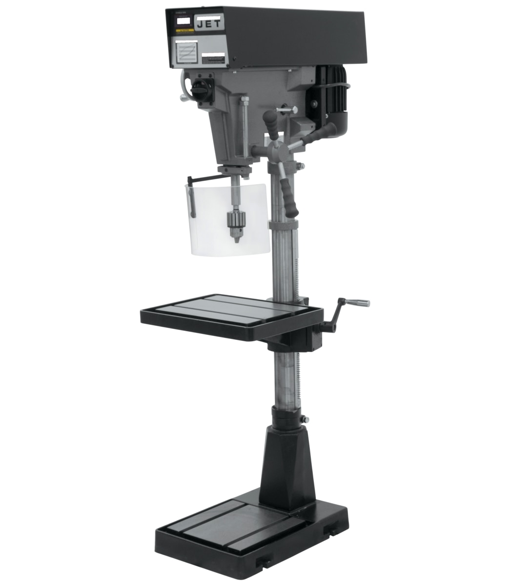 "J-A5816, 15"" Variable Speed Floor Model Drill Press 115/230V 1Ph"