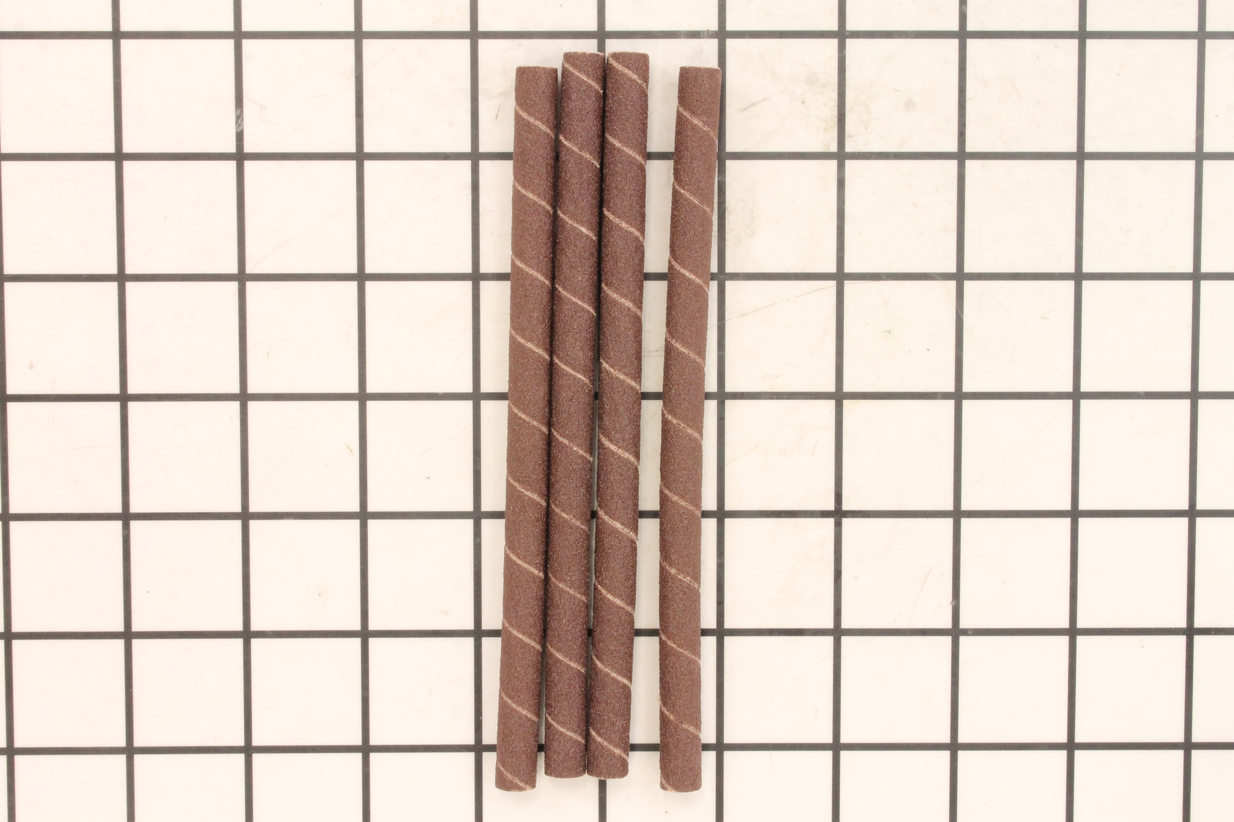 """Sanding Sleeves, 1/4""""x6"""", 100 Grit 4 pack"""