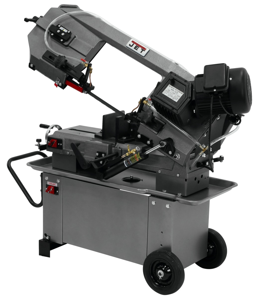 "HBS-812G, 8"" x 12"" Horizontal/Vertical Geared Head Bandsaw"