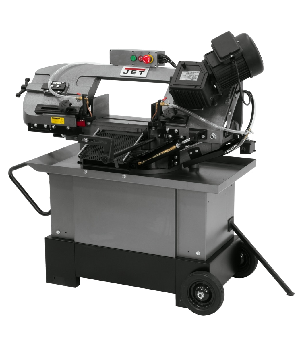 "HVBS-710G, 7"" x 10-1/2"" Horizontal/Vertical Mitering Geared Head Bandsaw"