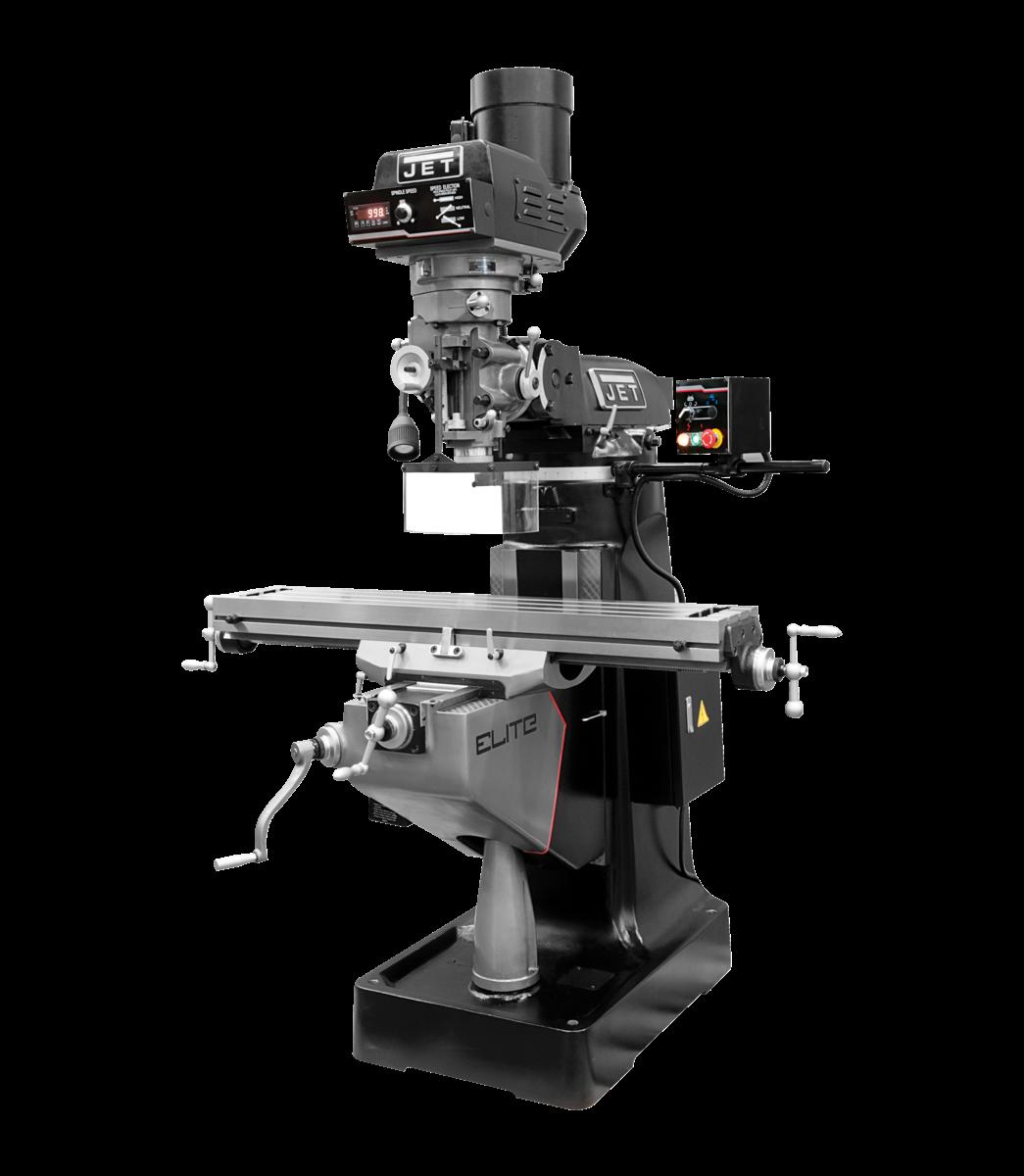 EVS-949 Mill with Servo X-Axis Powerfeed