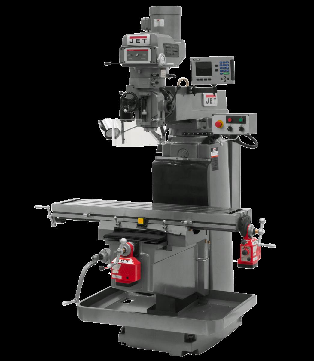 JTM-1254VS with  ACU-RITE  203 DRO X & Y Powerfeeds