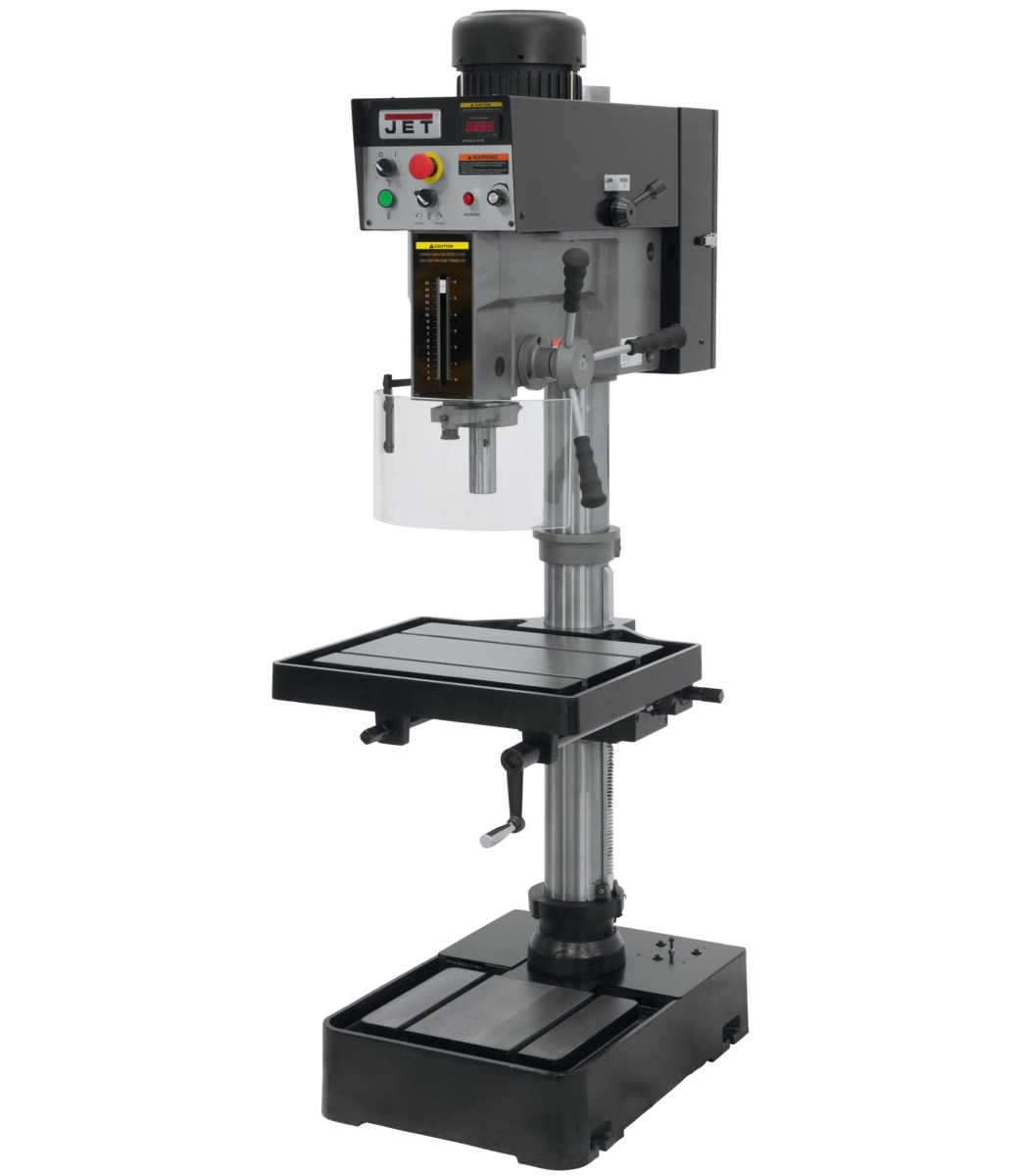"J-2232AC, 20"" EVS Variable Speed Drill Press 220V 3Ph"