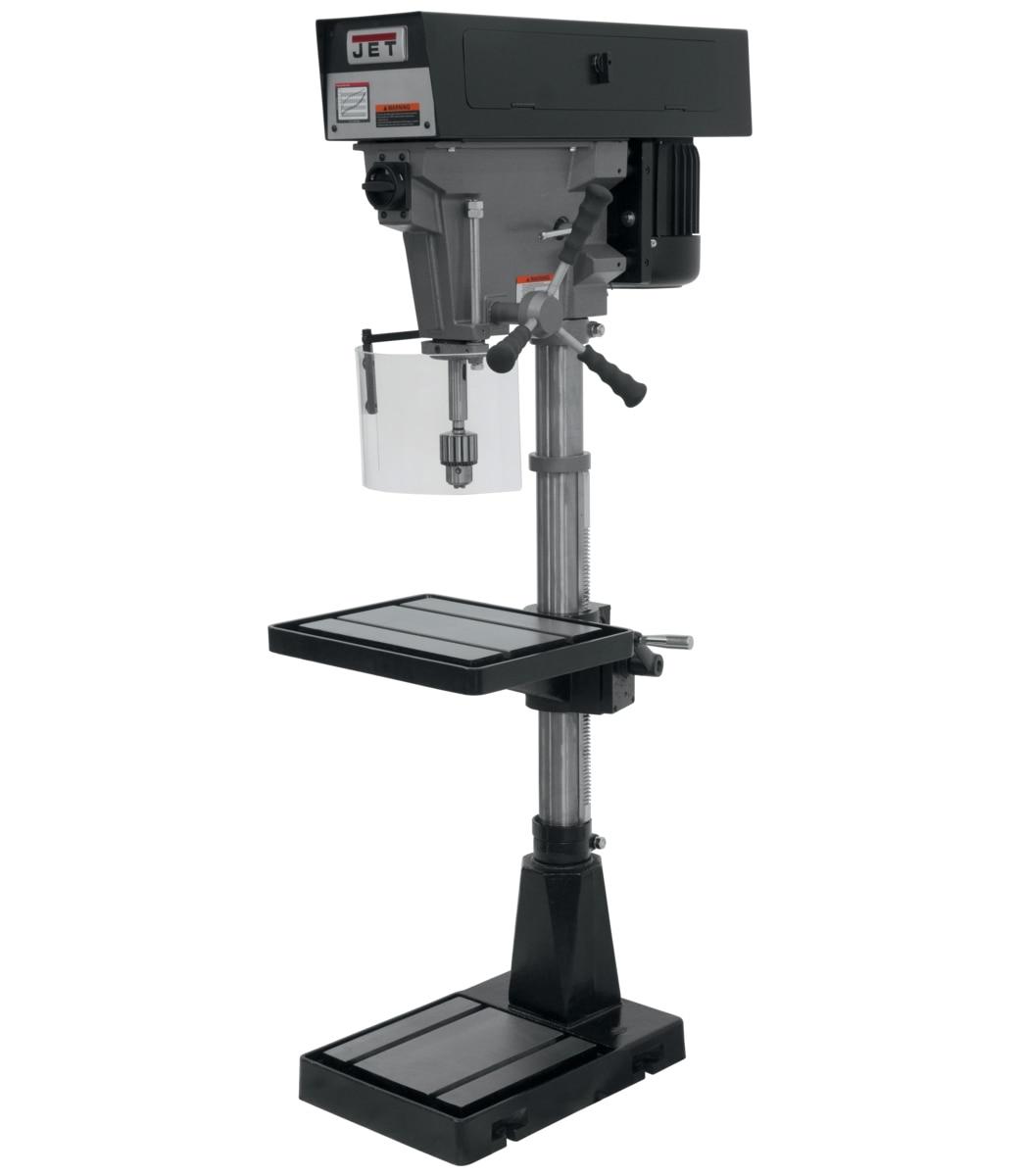 """J-A3816, 15"""" 6-Speed Floor Model Drill Press 115/230V 1Ph"""