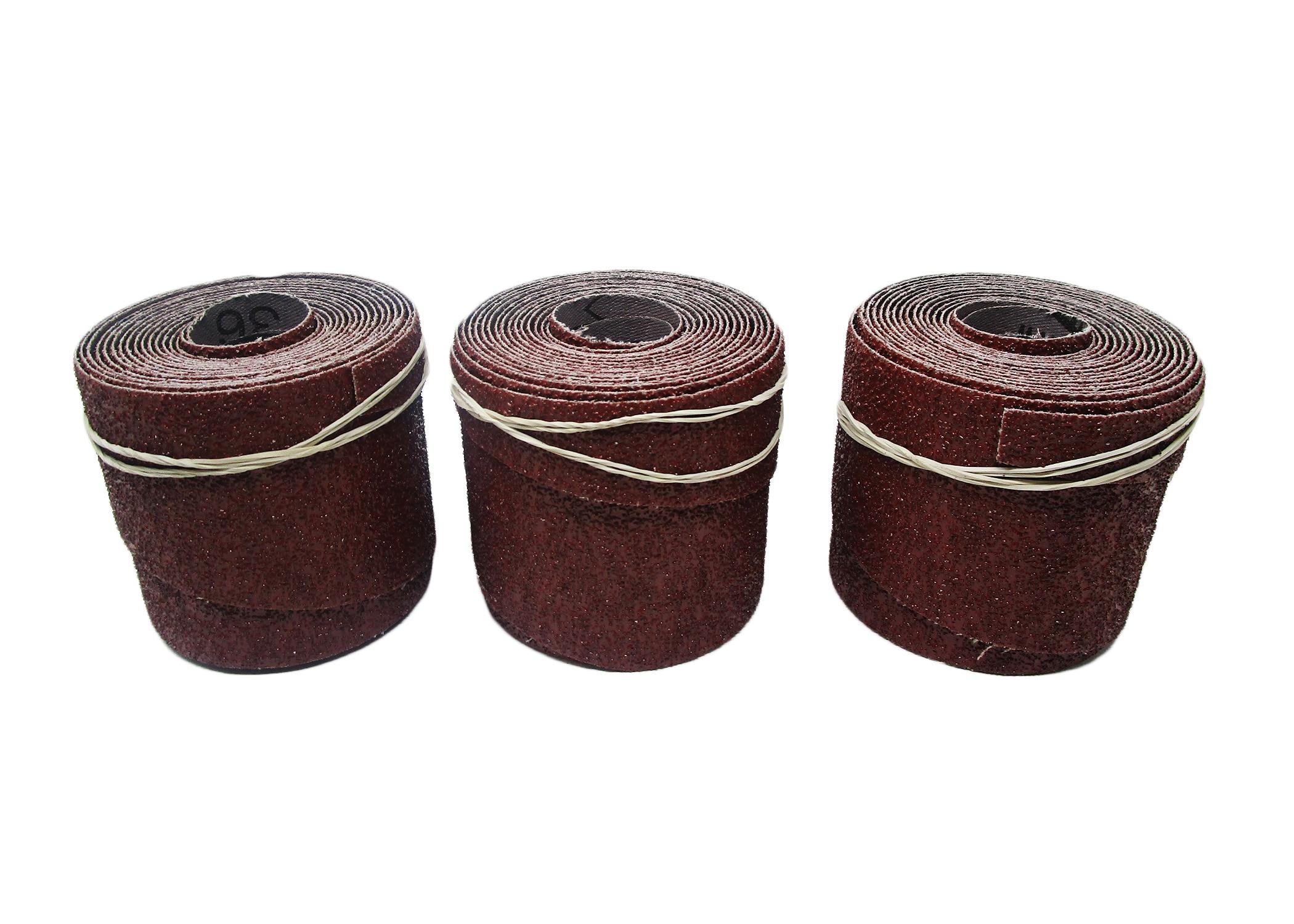 PM2244 Precut Abrasive, 36 Grit - 3 Pack