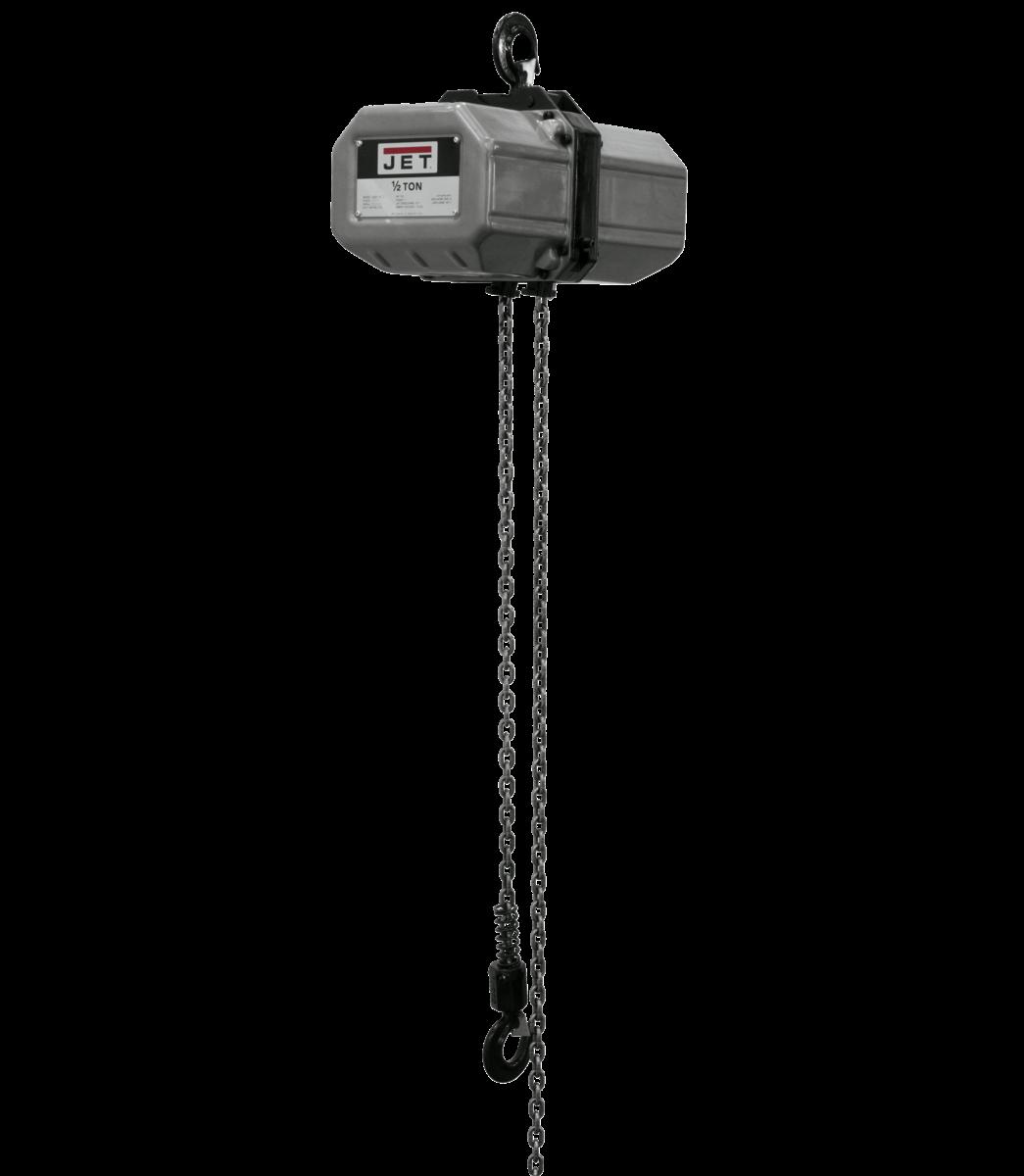 1/2SS-3C-10, 1/2-Ton Electric Chain Hoist 3-Phase 10' Lift