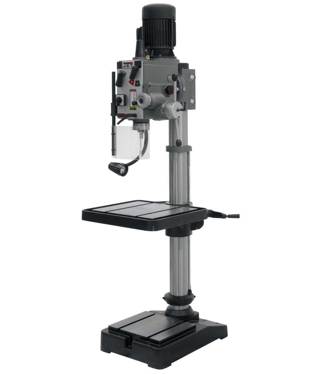 "GHD-20PF, 20"" Gear Head Drill Press With Power Down feed 230V, 3Ph"