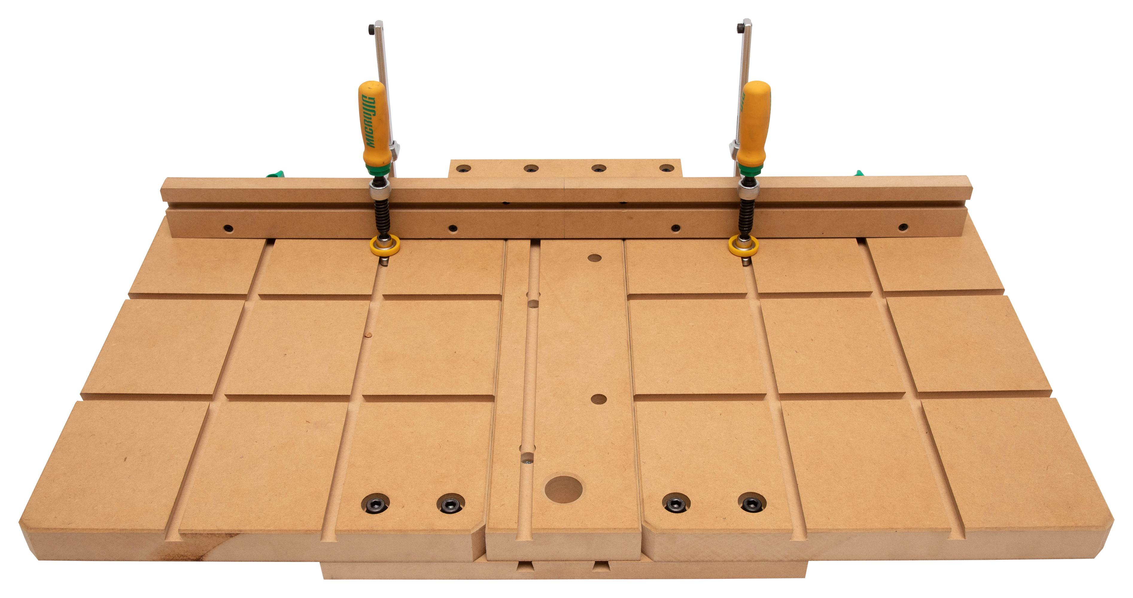 PM2820EVS, Table with MicroJig Clamps