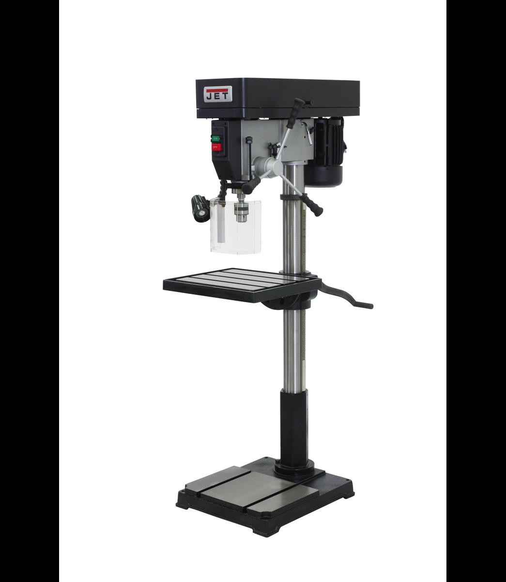"""IDP-22, 22"""" Industrial Floor Model Drill Press"""